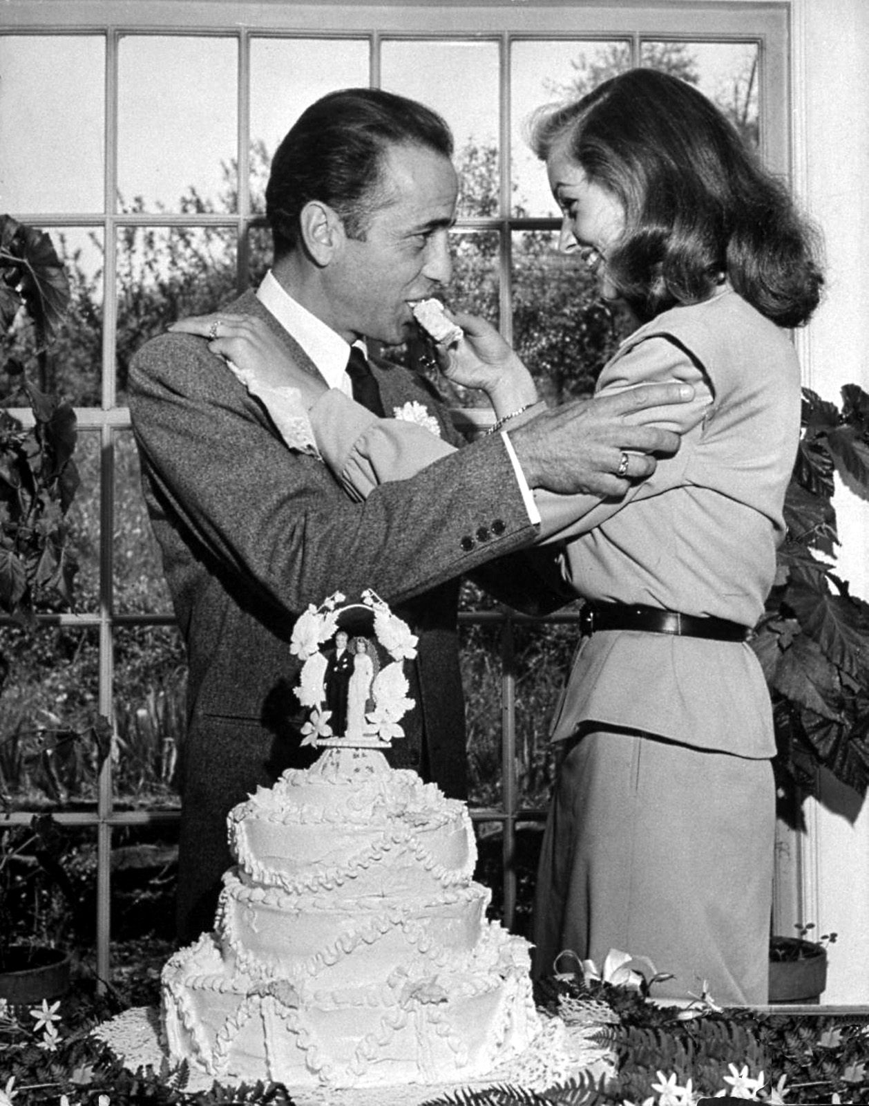 Bogie Amp Bacall Humphrey Bogart And Lauren Bacall On