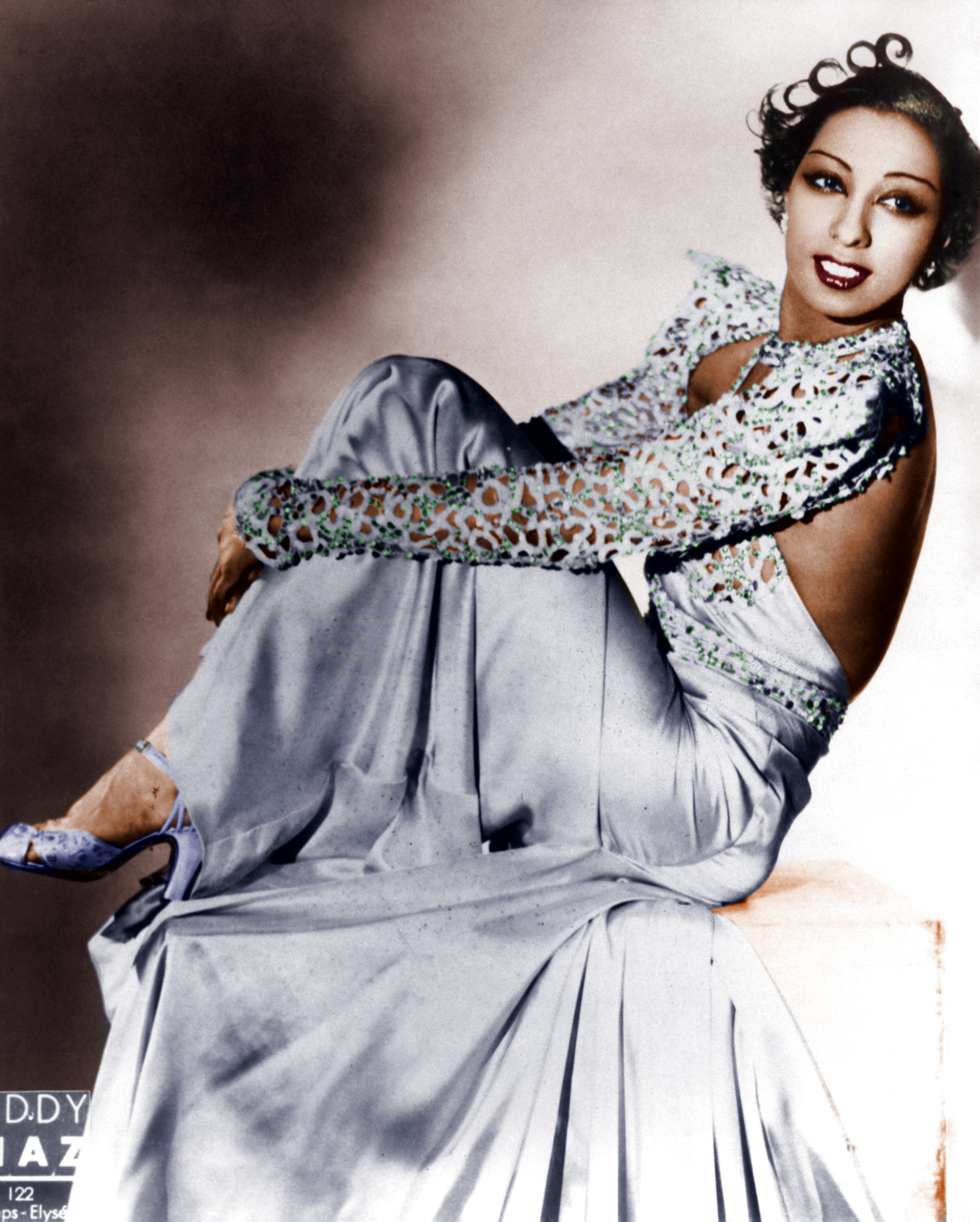 Josephine Baker Coloring Pages Color
