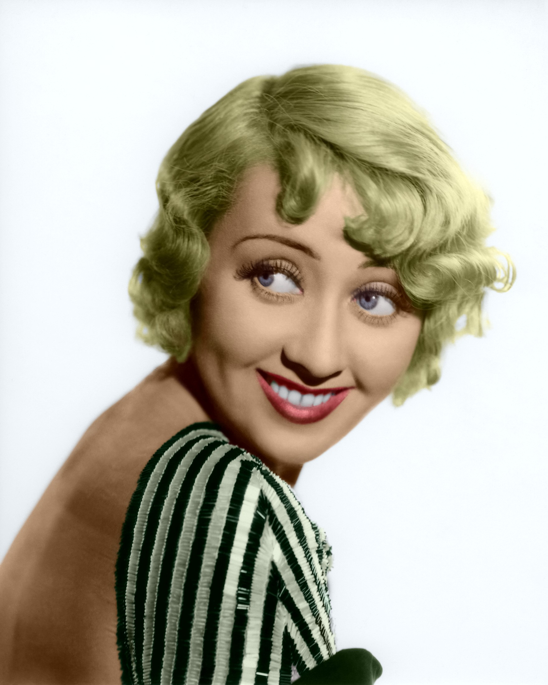 1930's blonde actress Joan Blondell