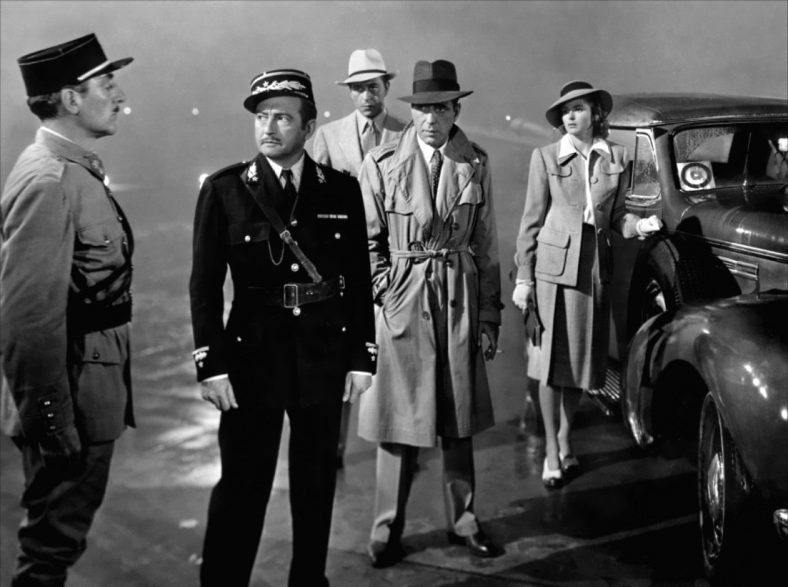 Casablanca Classic christmas films black and white
