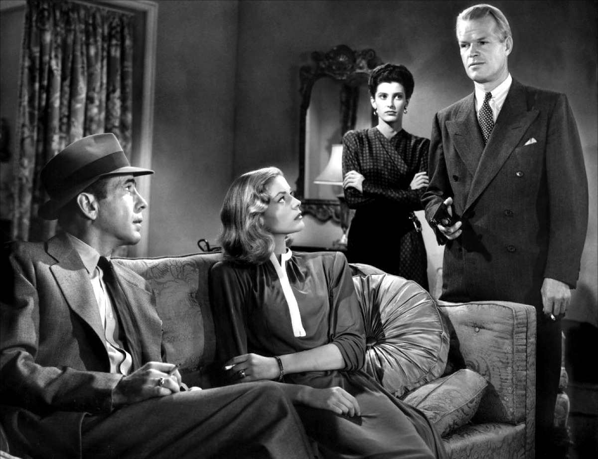 the big sleep the depiction of The definitive humphrey bogart/lauren bacall vehicle, the big sleep casts bogart as raymond chandler's cynical private eye philip marlowe summoned to the home of the fabulously wealthy general sternwood (charles waldron), marlowe is hired to deal with a blackmailer shaking down the general's.