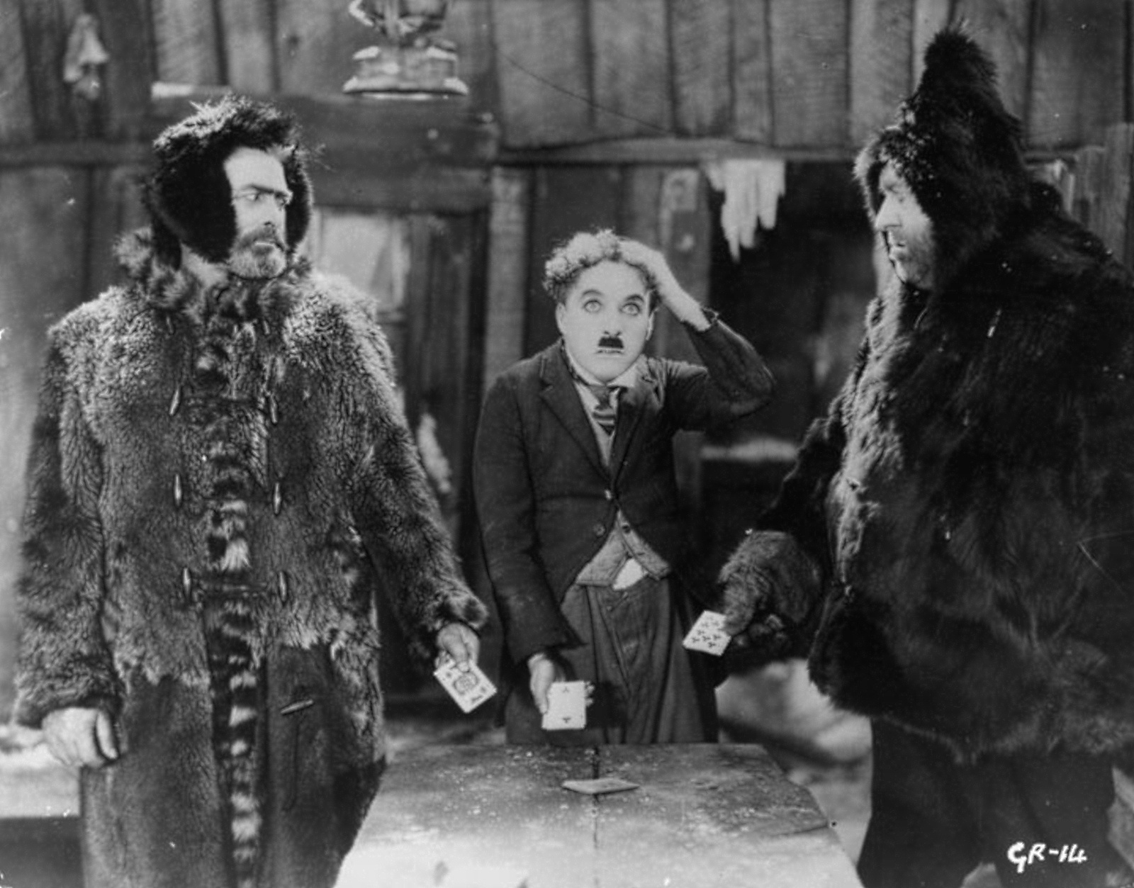 """Chaplin is """"For The Ages""""   THE GOLD RUSH 1925 THE 3 PROSPECTORS HA..."""