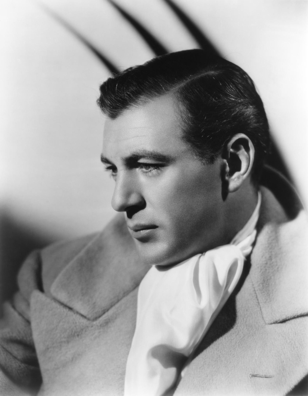 Gary Cooper - 1940 Hairstyles