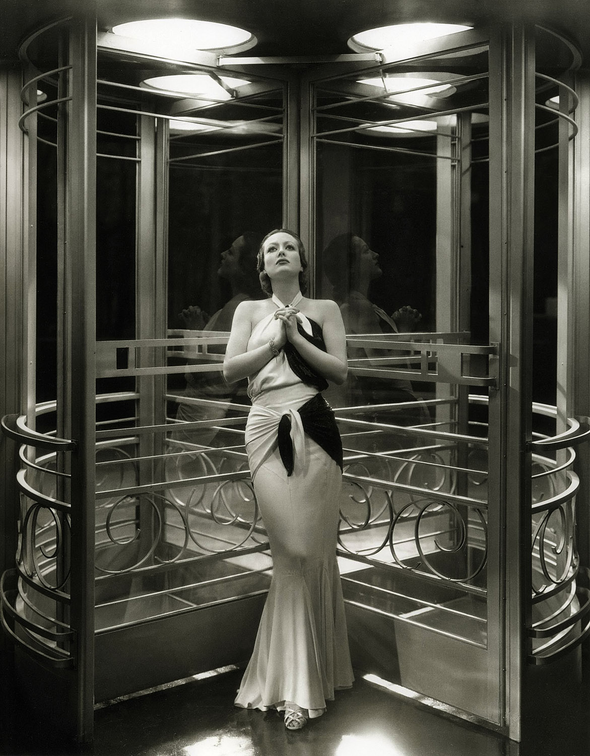 Joan crawford annex for Miroir art deco 1930