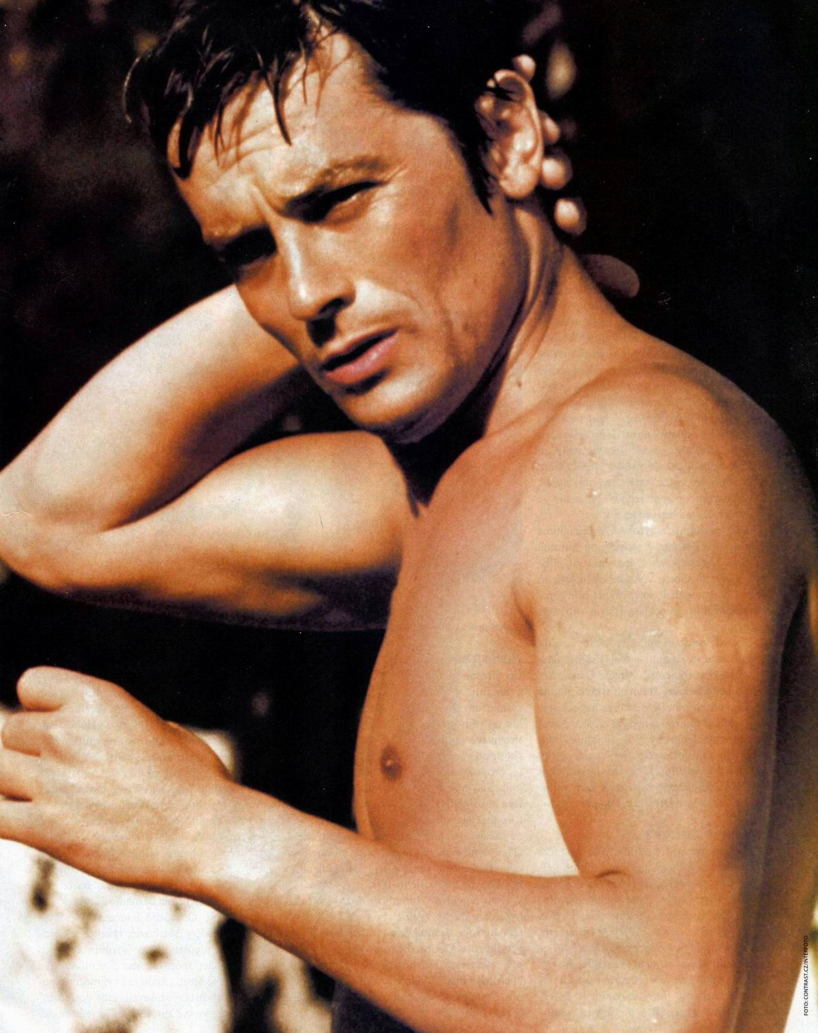 The pools french film beautiful portraits beautiful for Alain delon la piscine