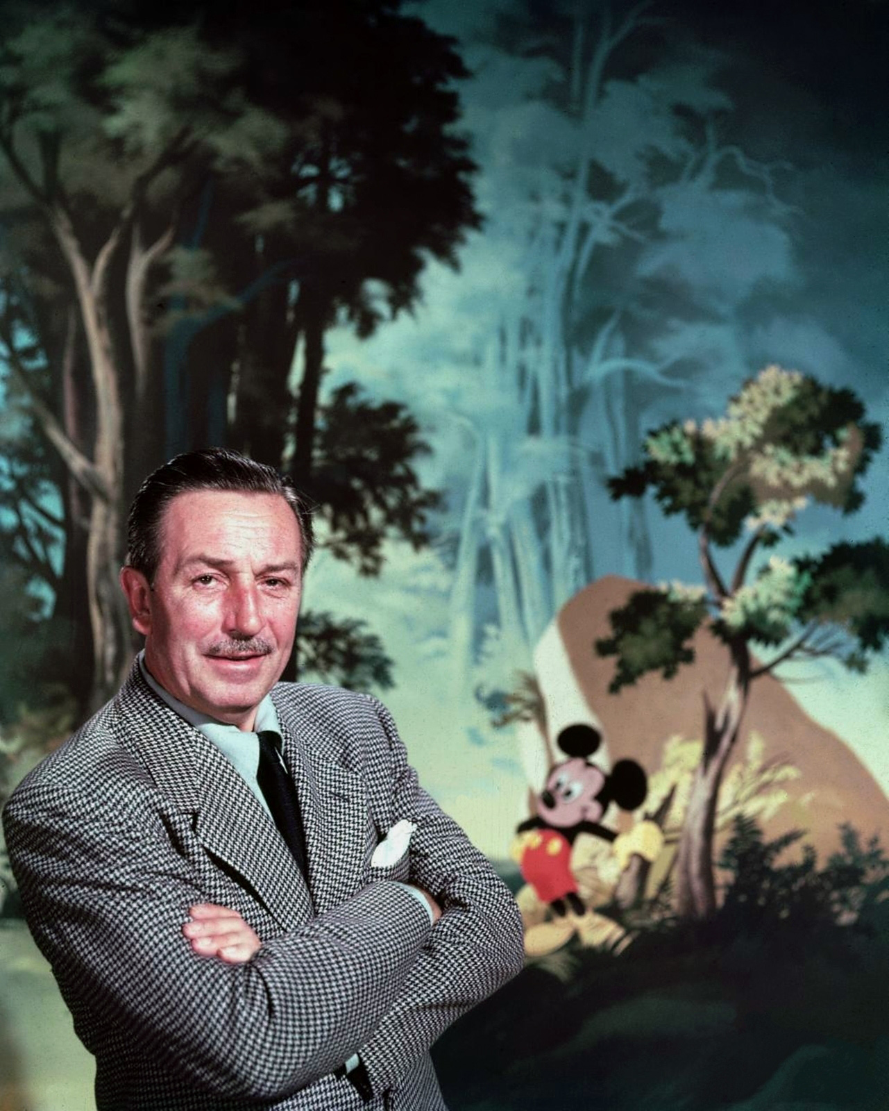 walt disney Mickey mouse is an animated anthropomorphic mouse created by walt disney and ub iwerks in 1928 mickey is, by far, the walt disney company's most.