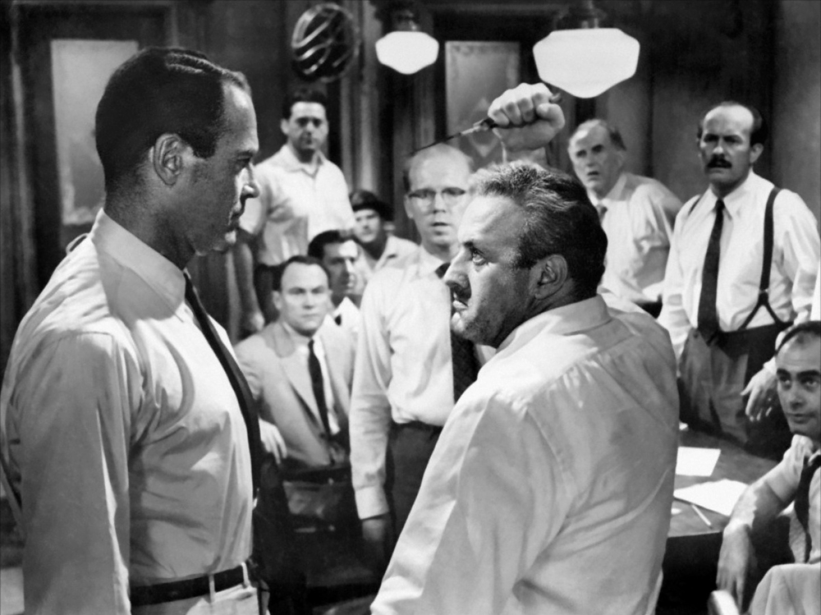 anger in twelve angry men Courtroom drama – suspense, inquisition, revelation and justice – is the lifeblood  of theatre, from the greeks to agatha christie, and the return.