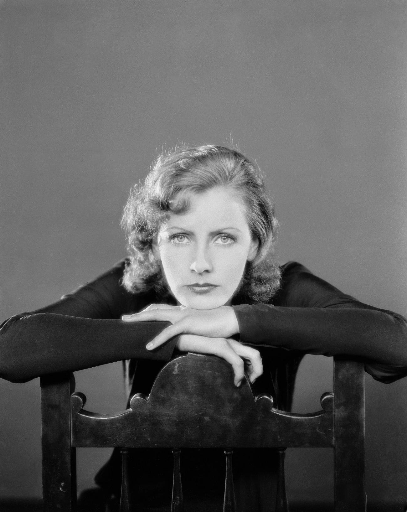 Portrait of Greta Garbo for Anna Christie directed by Clarence Brown, 1931.  Photo by