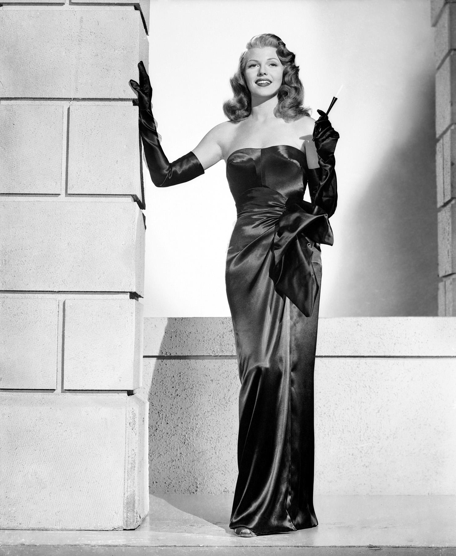 Evening dresses 1940s style