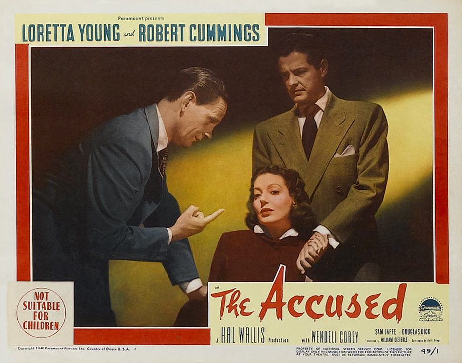 accused the  detailed information about this film is available from the afi catalog of feature films at afi com or by clicking here