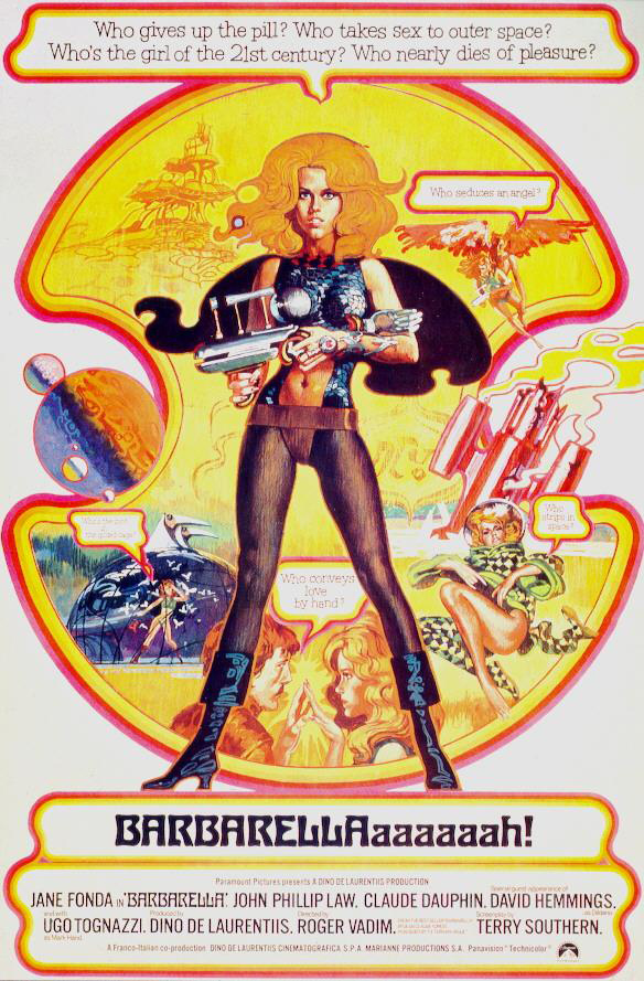 barbarella movie poster - photo #11