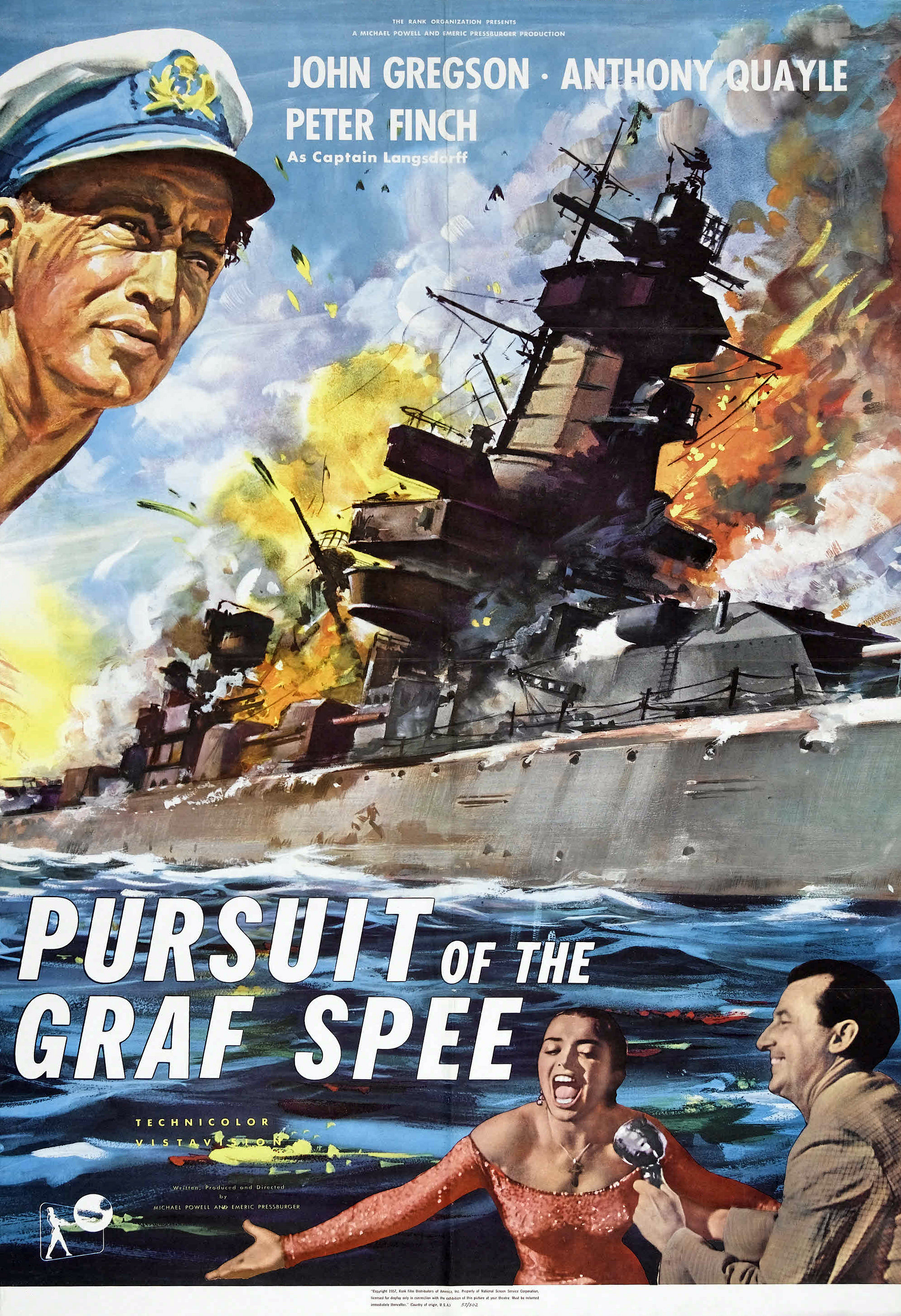 Pursuit of the graff spee movie