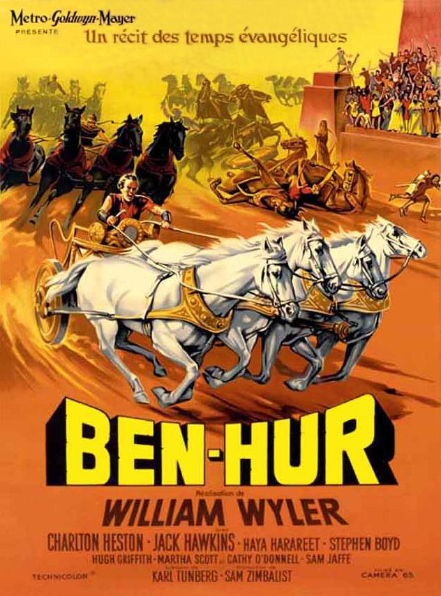 ben hur movie poster bing images
