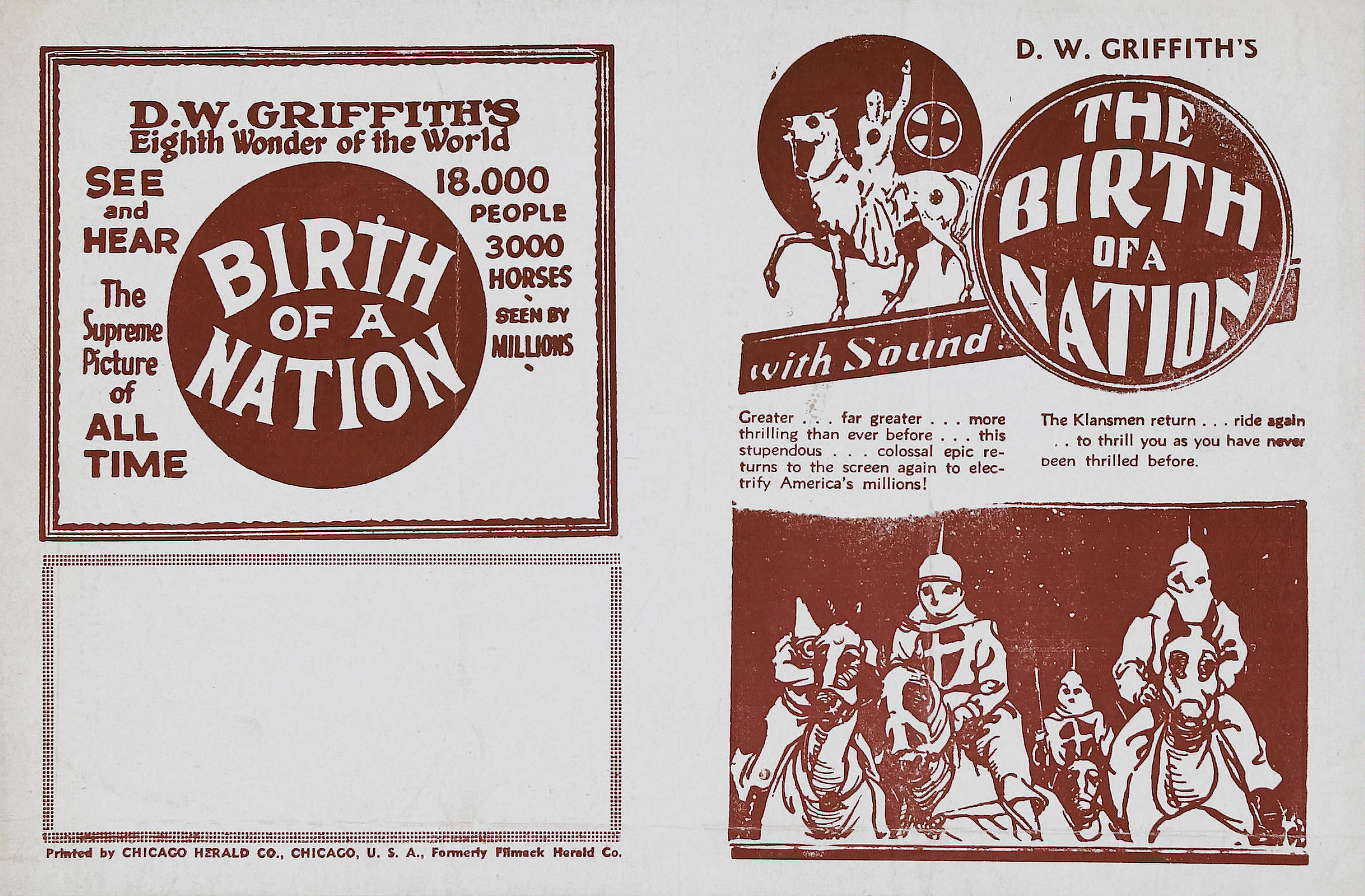 a movie analysis of birth of a nation by d w griffith