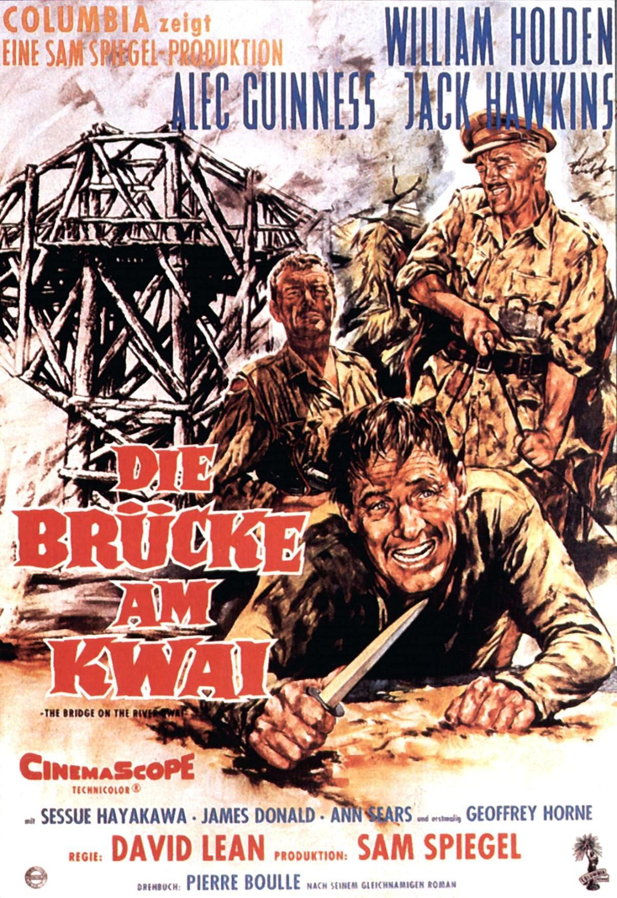 デヴィッド・リーン監督の戦場にかける橋という映画