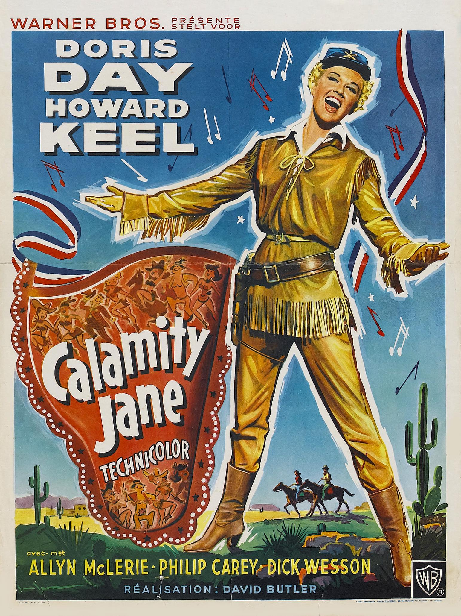 Calamity jane movie