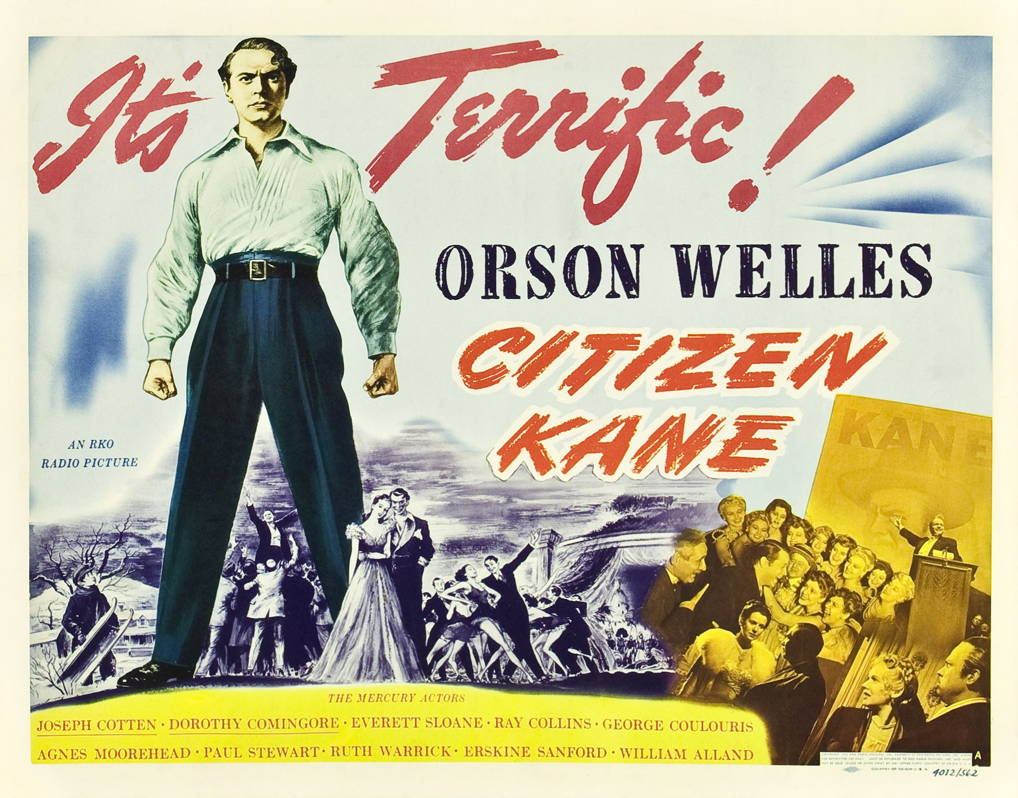 an analysis of the film citizen kane By robert kroll while there are many differences in orson welles' proposal for a 1950s television adaptation of citizen kane, perhaps what is most surprising is how much it would have stayed true to his landmark 1941 movie acquired by indiana university's lilly library in october 2015, the proposal.