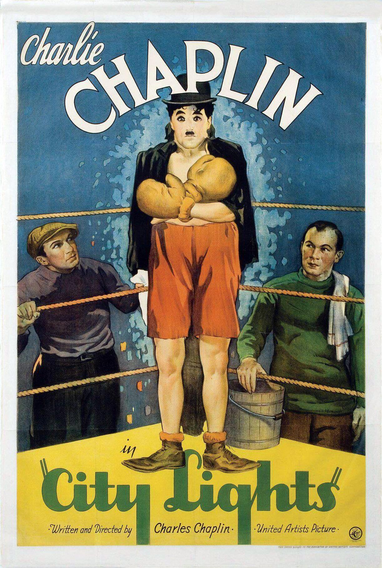 Charles Chaplin - Luces de la Ciudad | 1931 | Mega-Uptobox