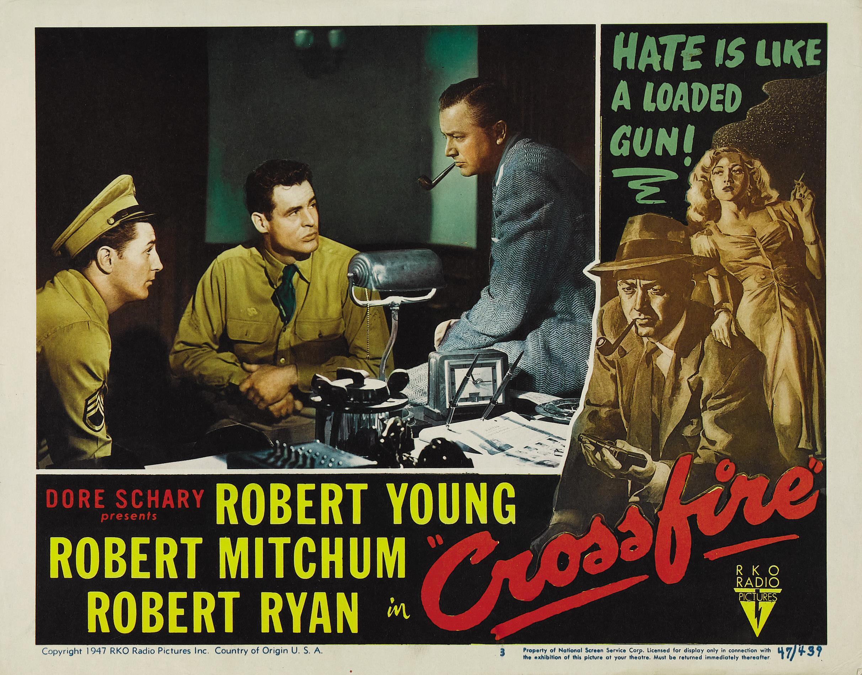 Feux croisés (film, 1947) — Wikipédia