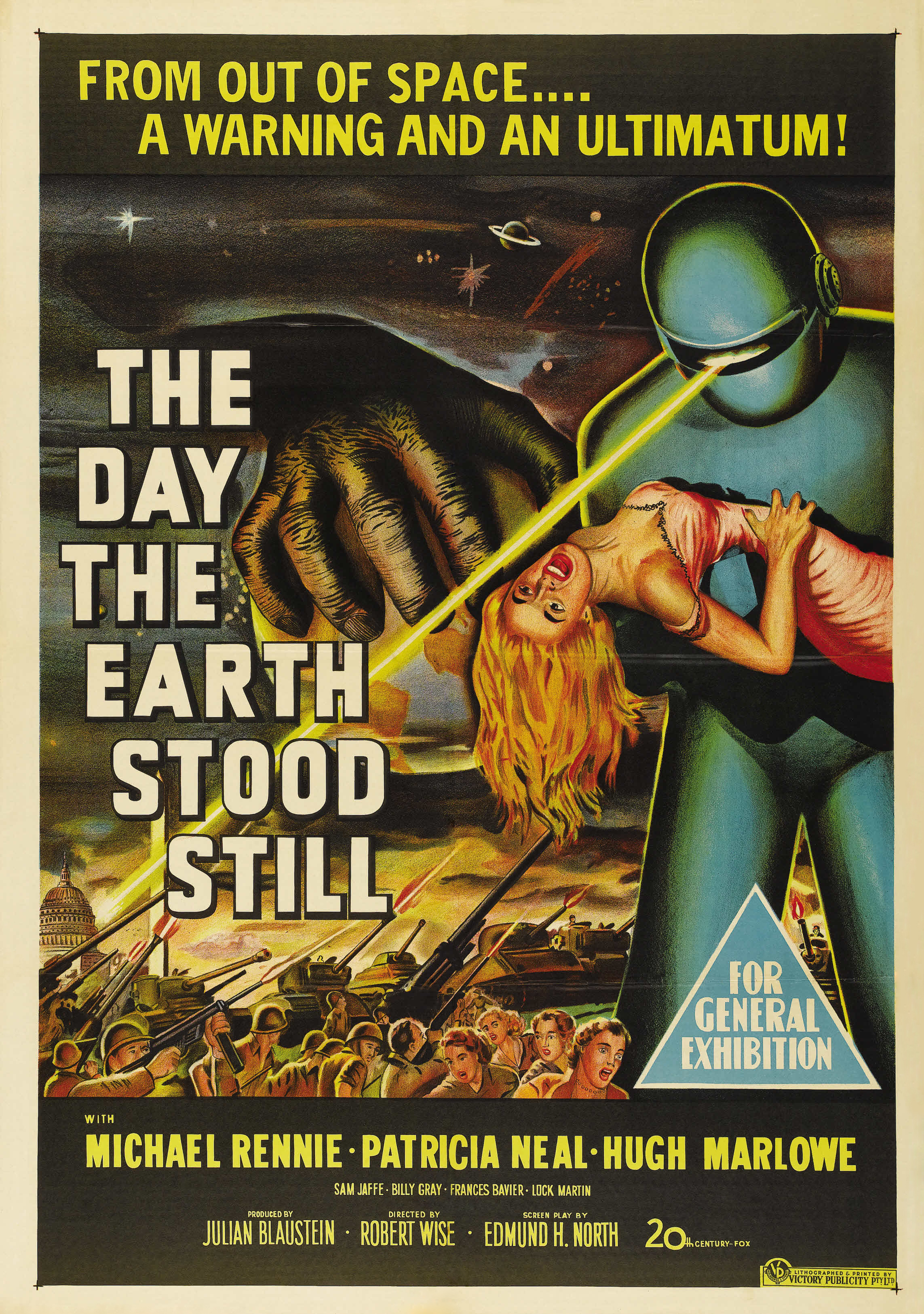 day the earth stood still the