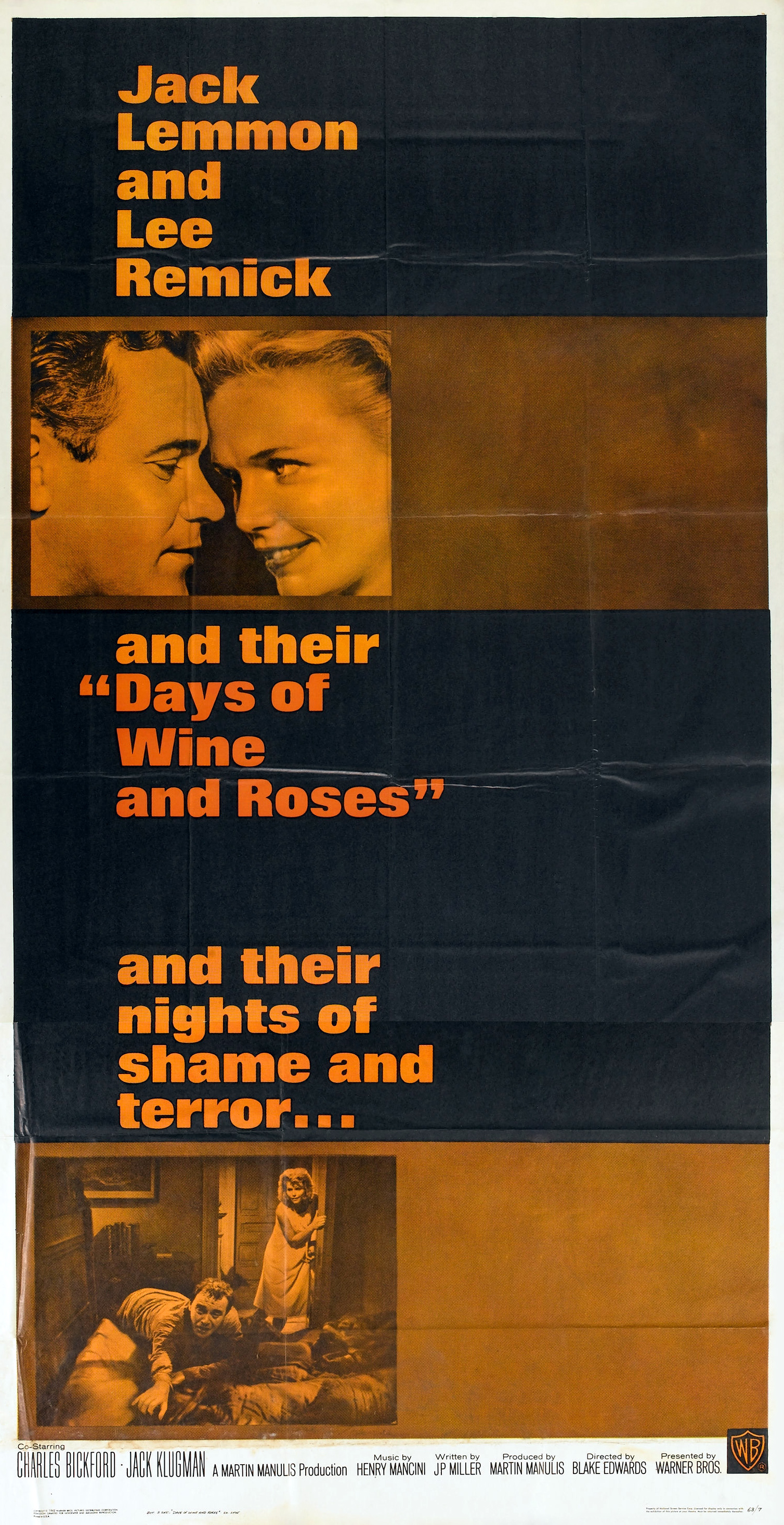 days of wine and roses The days of wine and roses is a fine message movie that gets its point across without getting preachy or self-righteous, with believable performances by all 46 of 50 people found this review helpful.