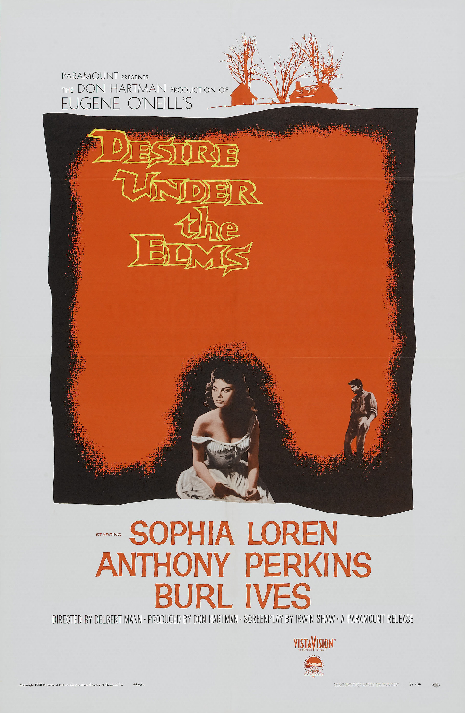 desire under the elms With a sweeping score by elmer bernstein, desire under the elms sizzles with a heated story of passion unleashed and temptation unbridled, and a heavy price paid for the pleasures of sin cast and crew.