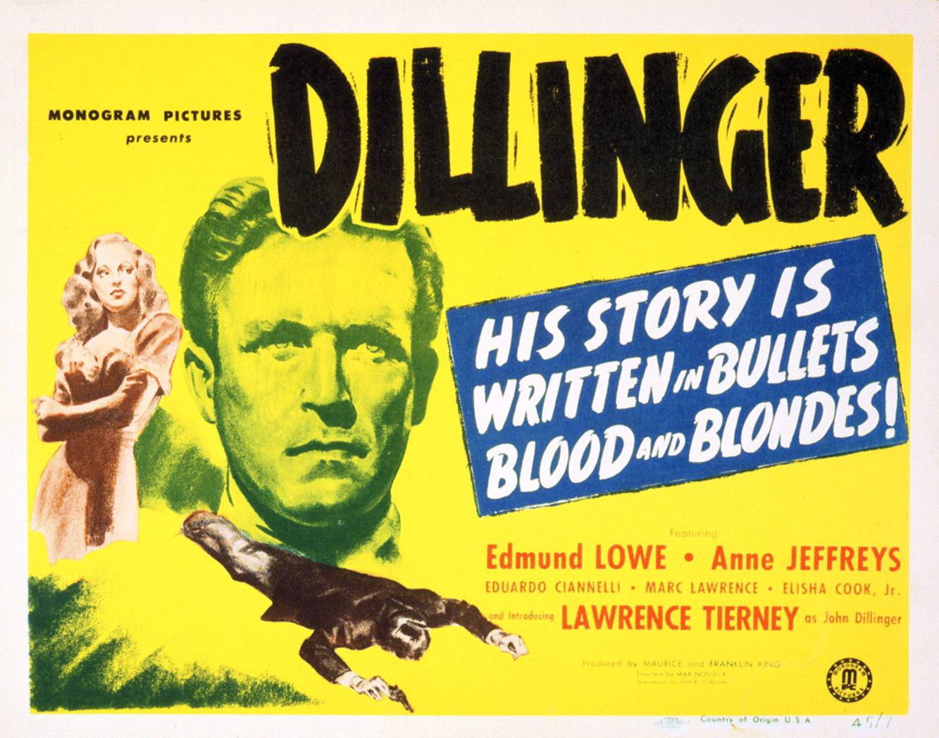 Dillinger (1945 film) Dillinger 1945