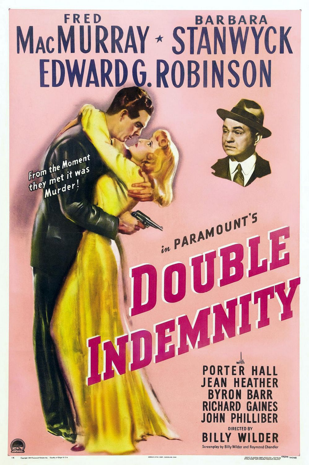 essays on double indemnity film noir An example of film noir: double indemnity the femme fatale the femme fatale – a film noir studies essay film noir studies 1 jan 2008 web 9 nov 2014.