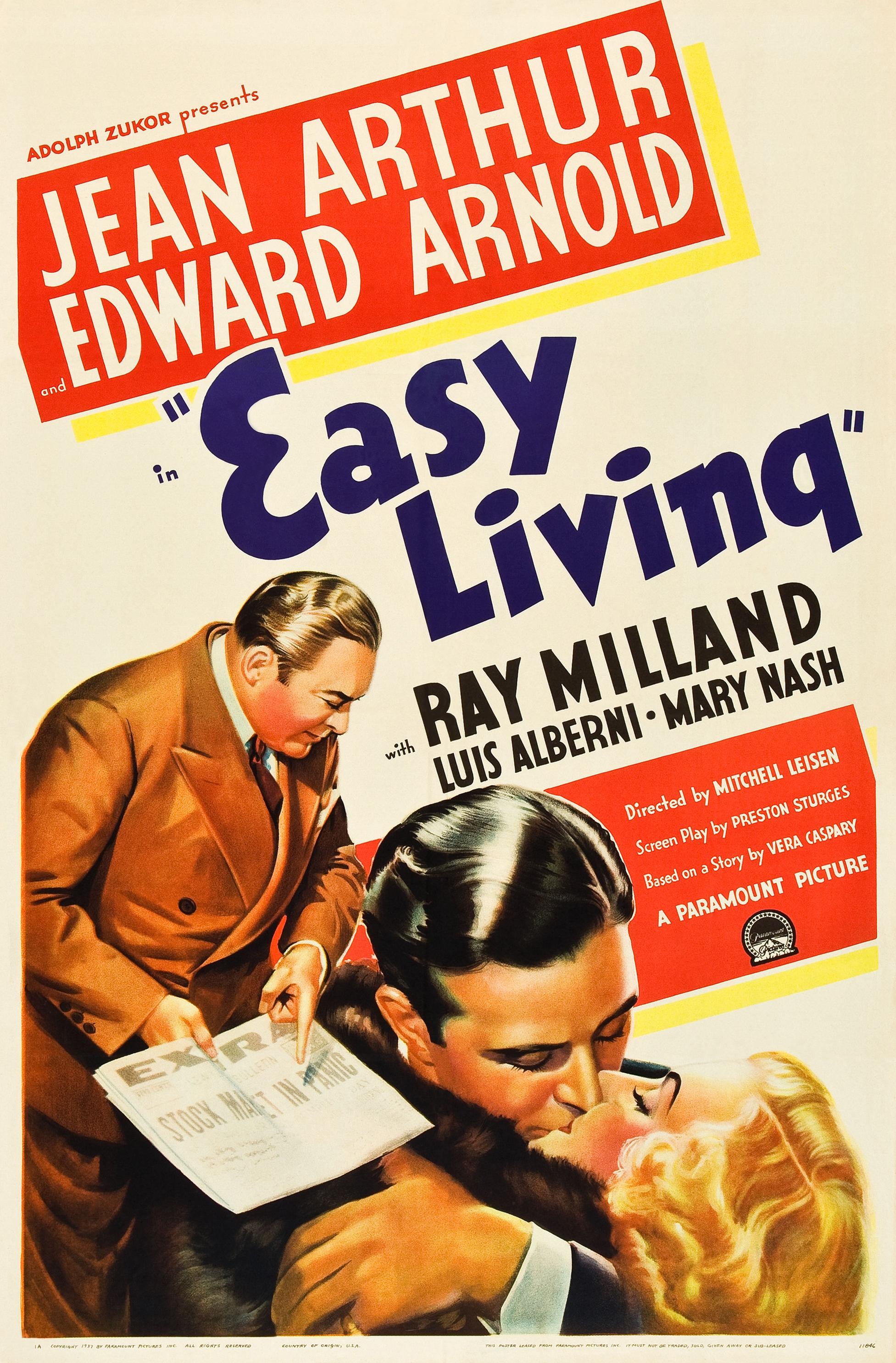 Easy living 1937 for Easy living