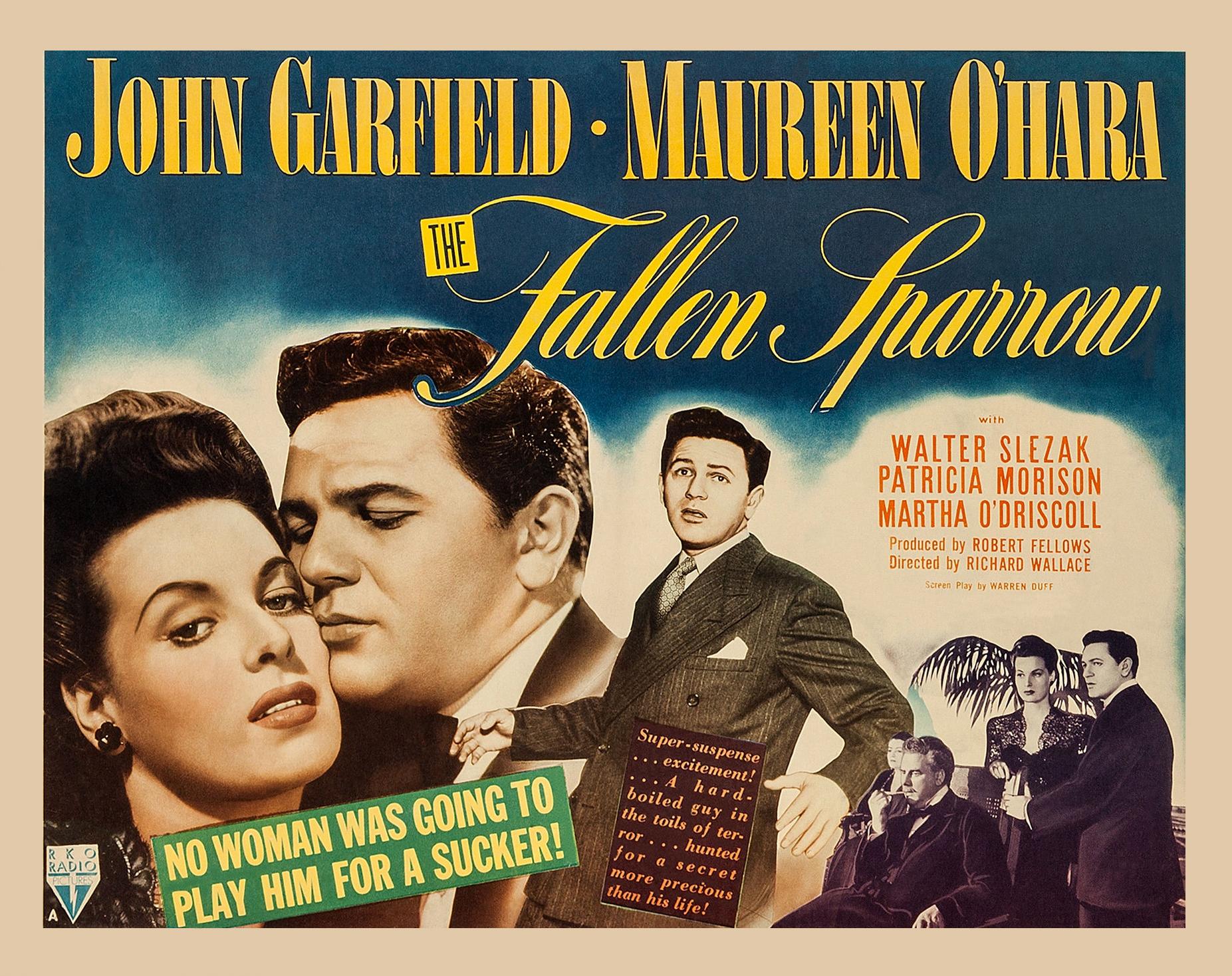 Image result for maureen o'hara and john garfield