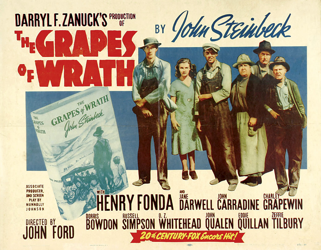 complete classic movie the grapes of wrath 1940 independent film news and media. Black Bedroom Furniture Sets. Home Design Ideas