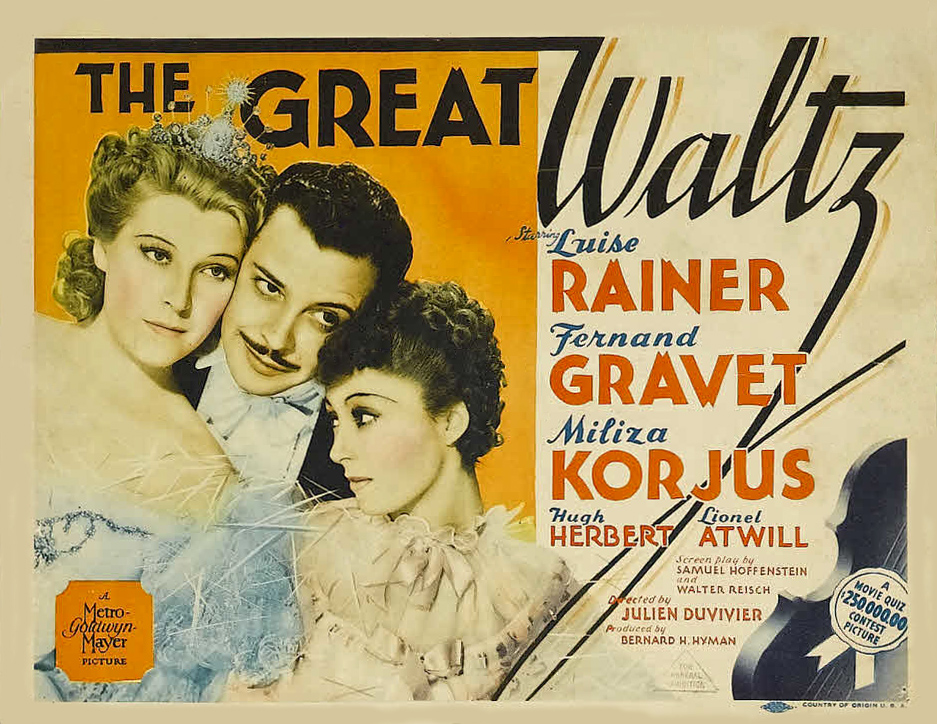 Great Waltz, The (1938)