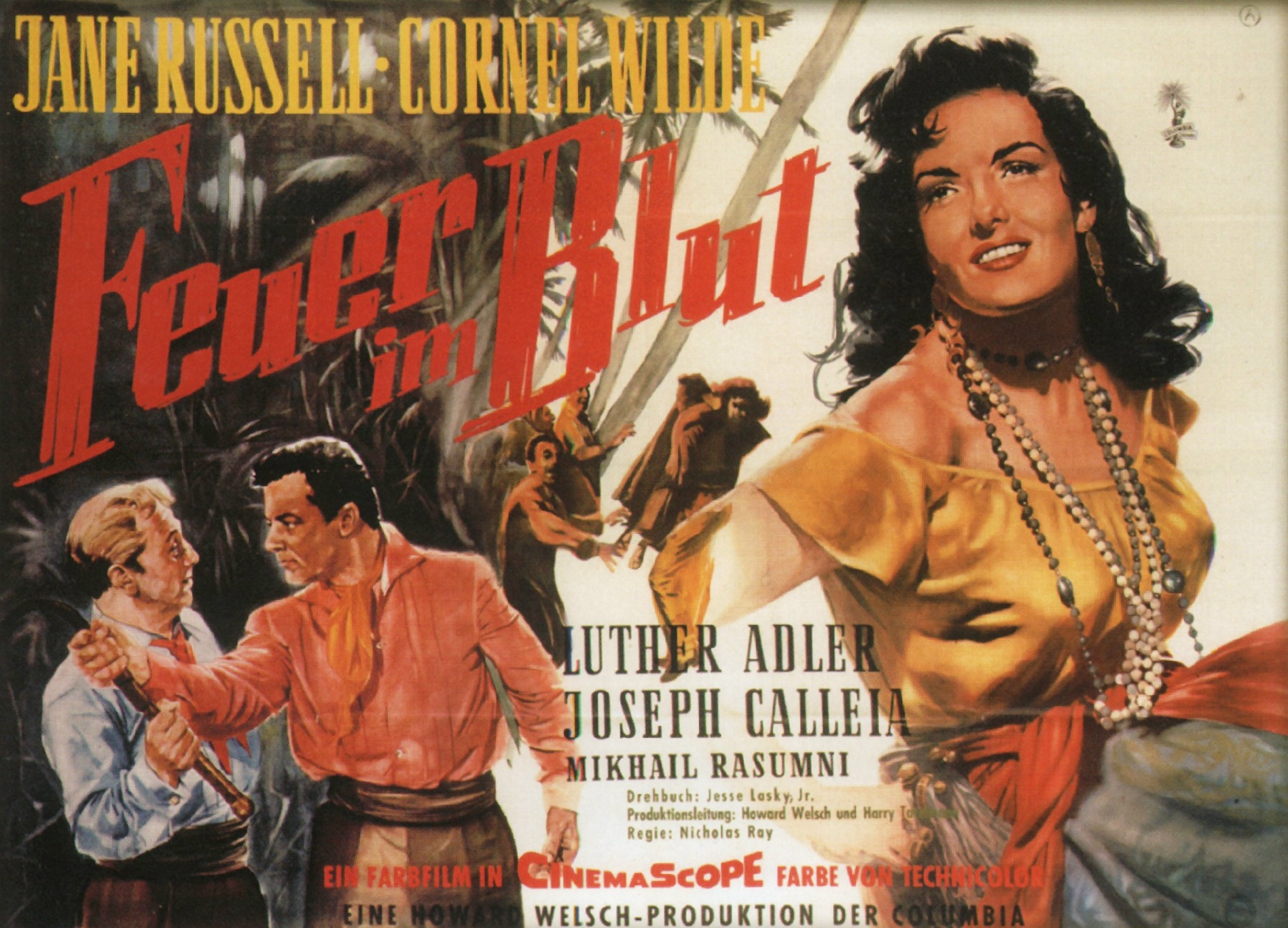 Hot Blood Hot Blood 1956