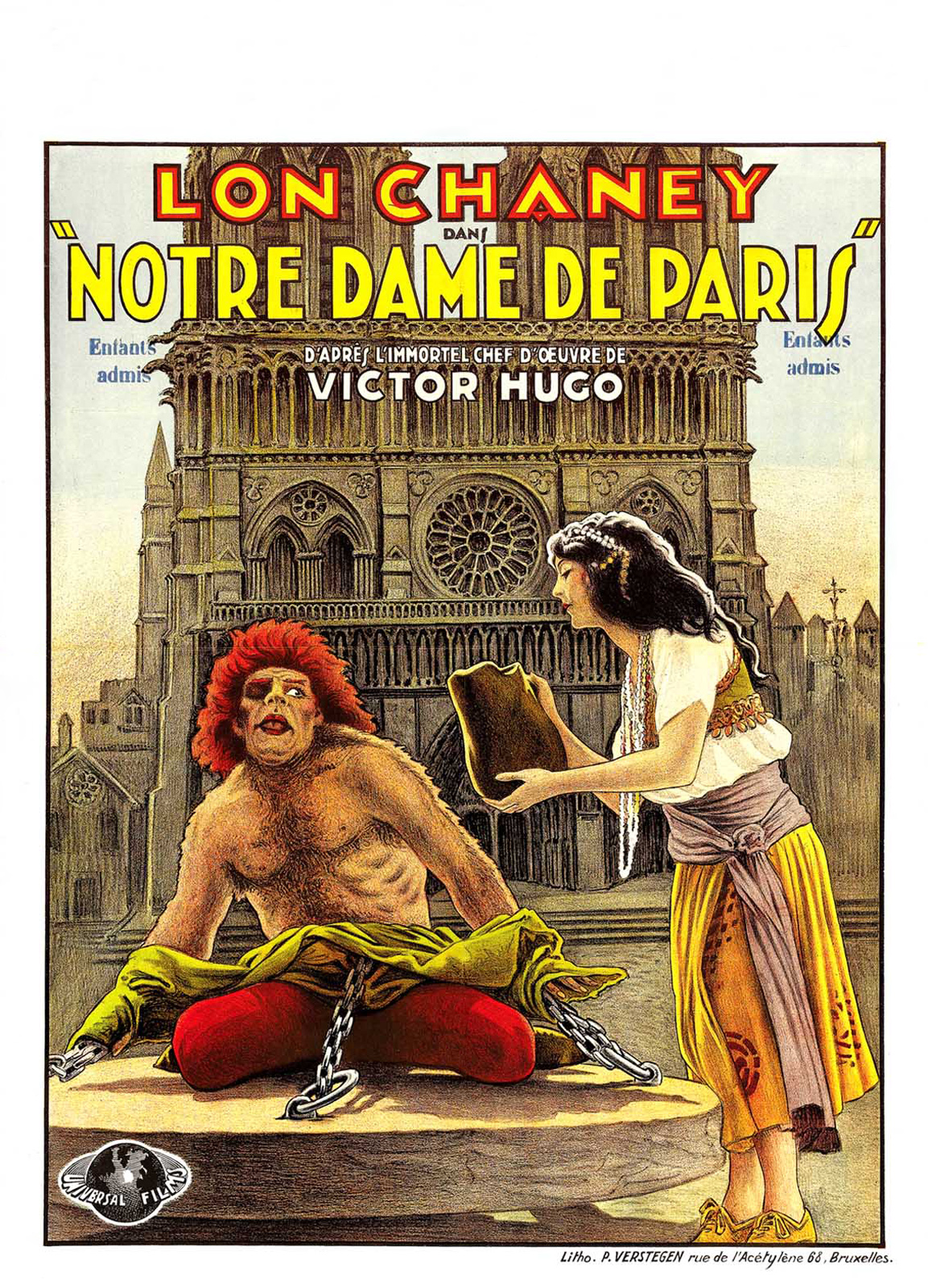The Hunchback Of Notre Dame 1923 Lon Chaney Patsy Ruth Miller