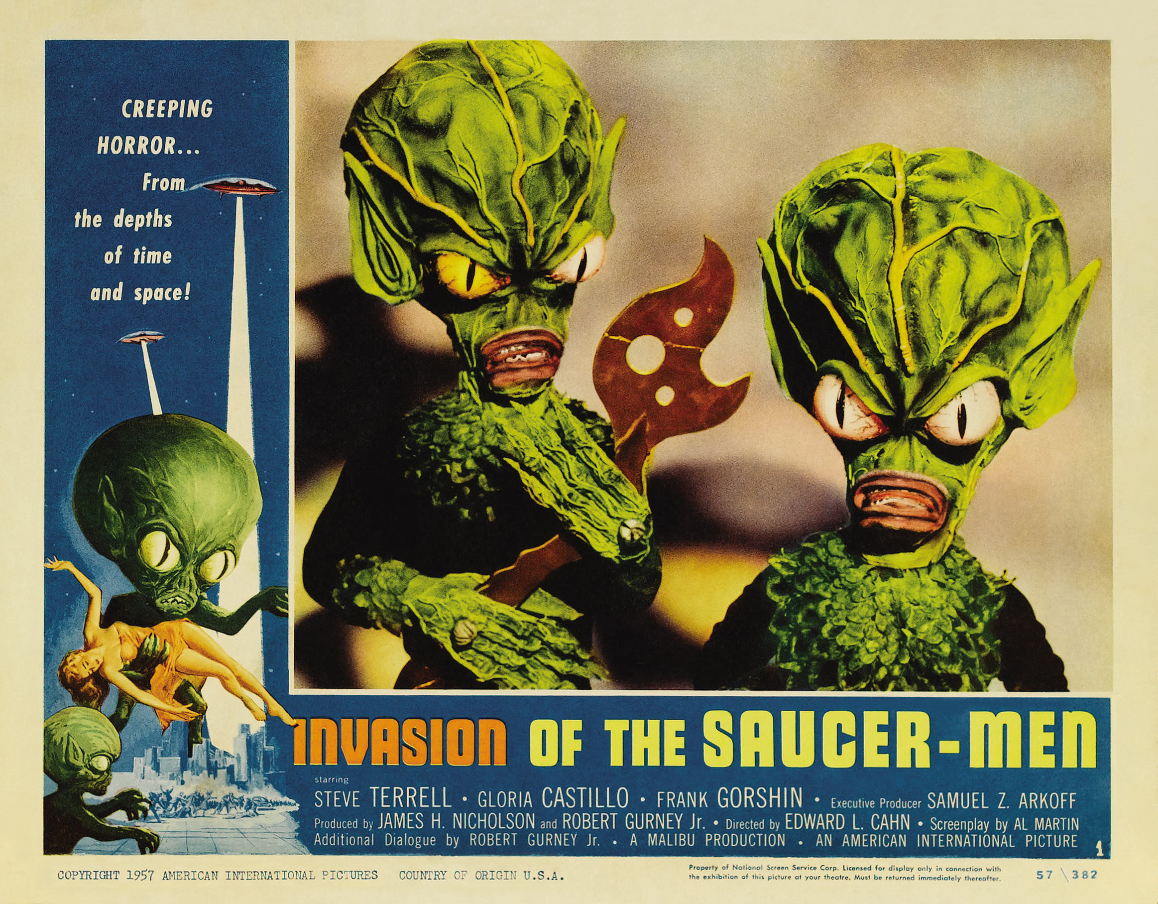 Invasion of the saucer men movie opinion