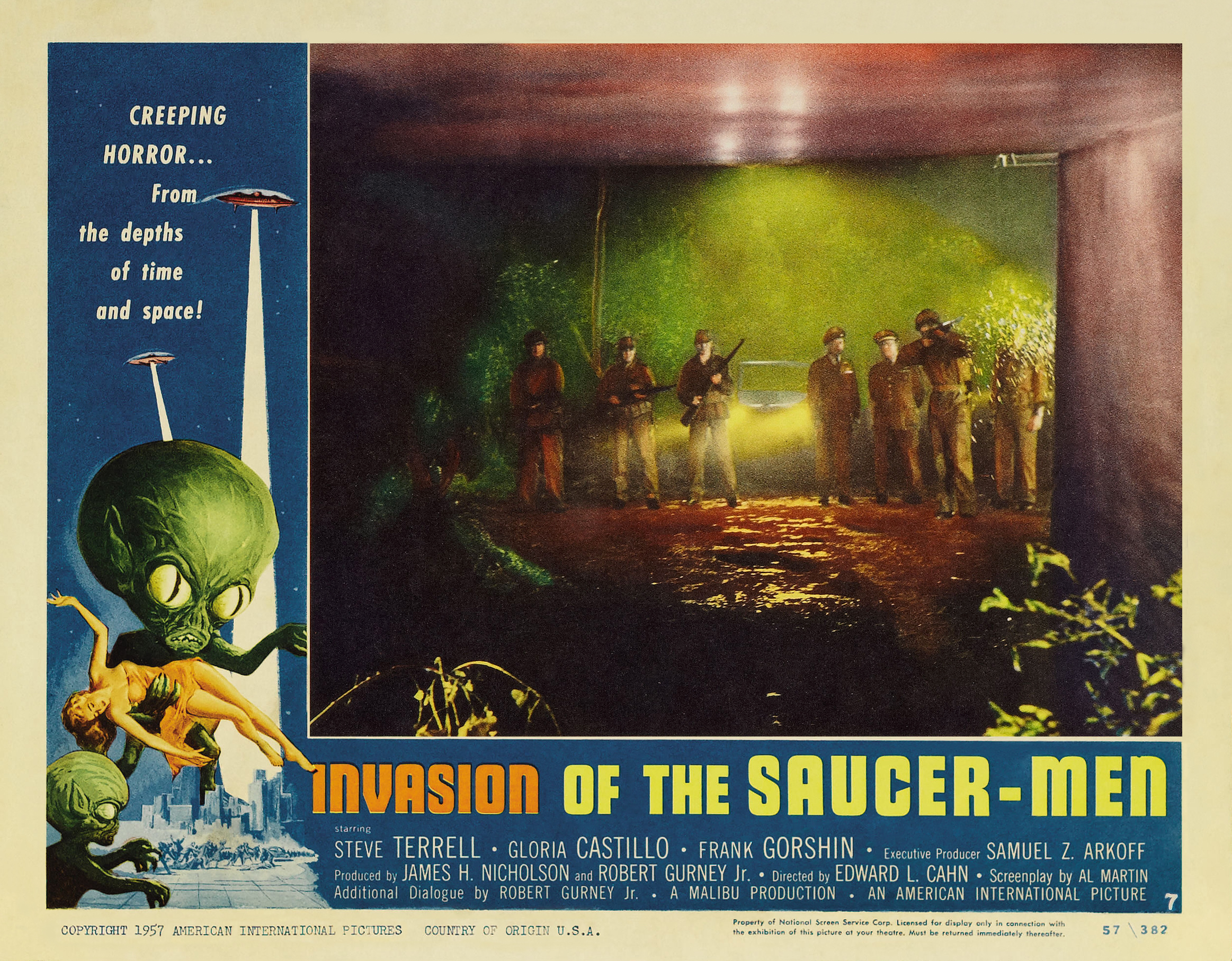 Excellent and invasion of the saucer men movie concurrence