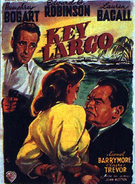 Key Largo Movie Poster...