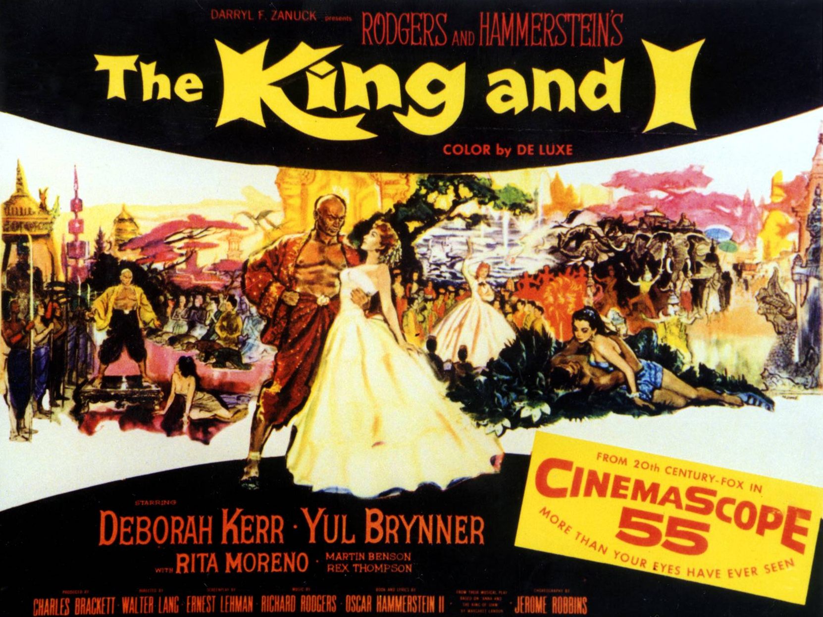 Movie Poster for The King And I