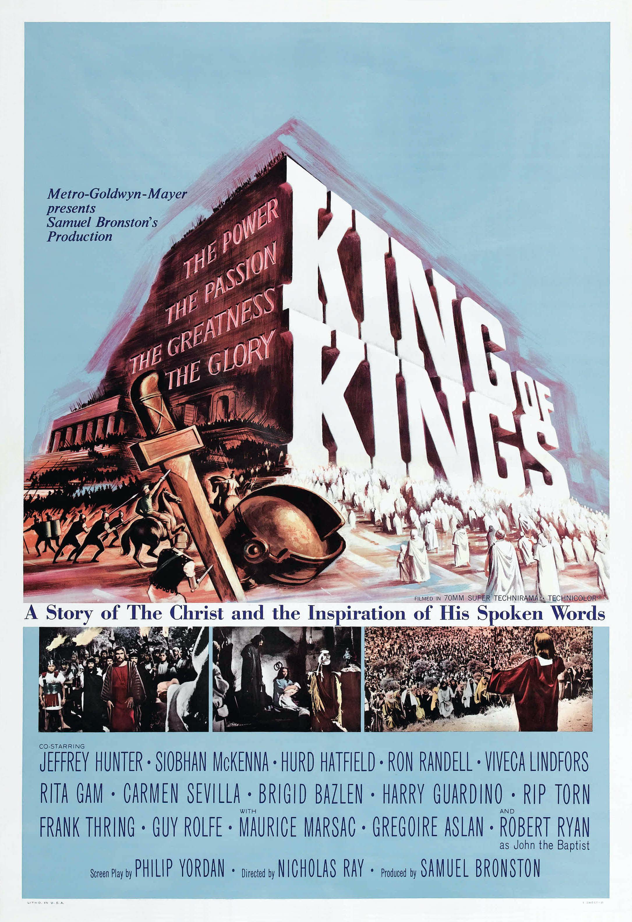 Царь царей 1961 - библейские - художественные фильмы
