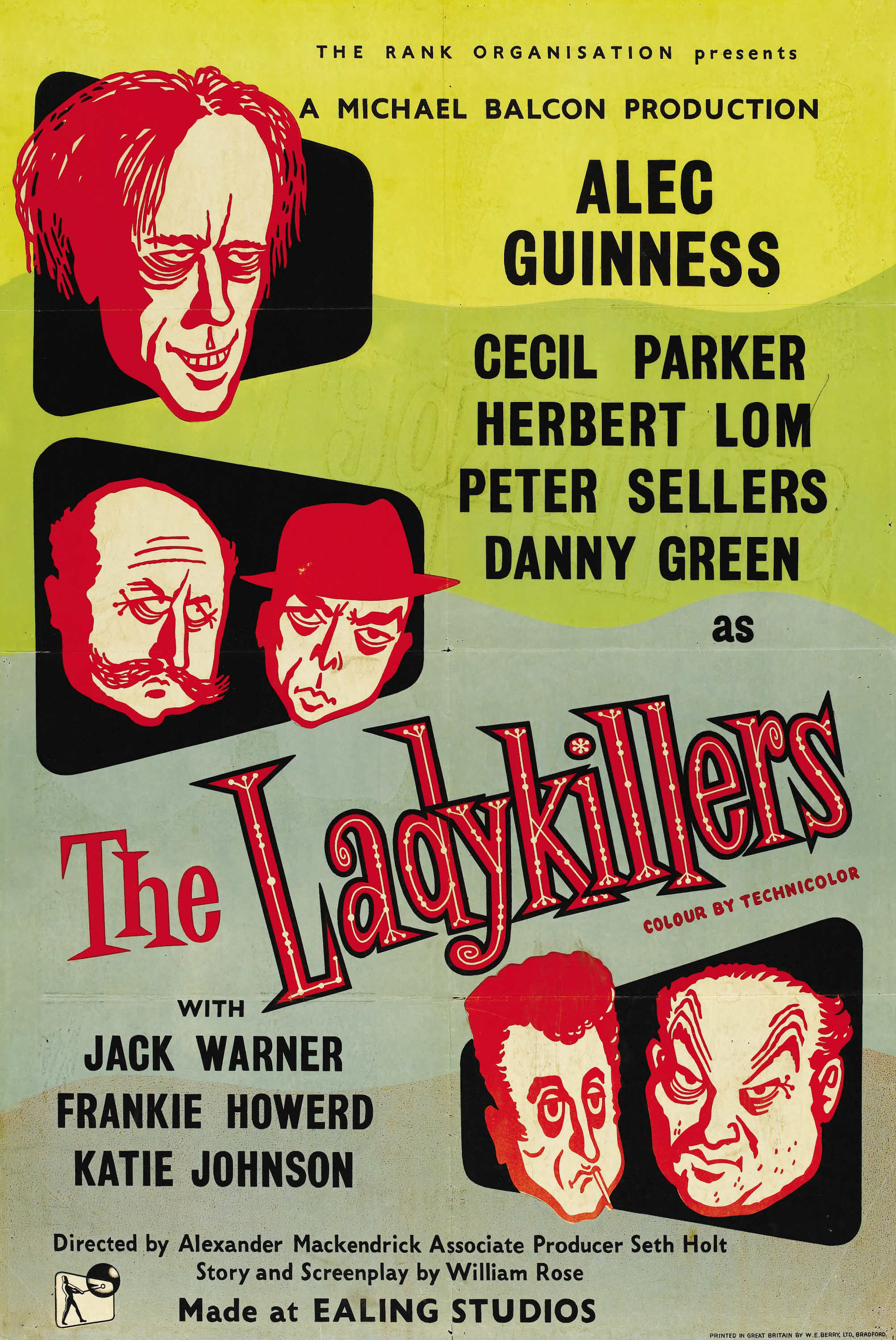 ladykillers the 1955