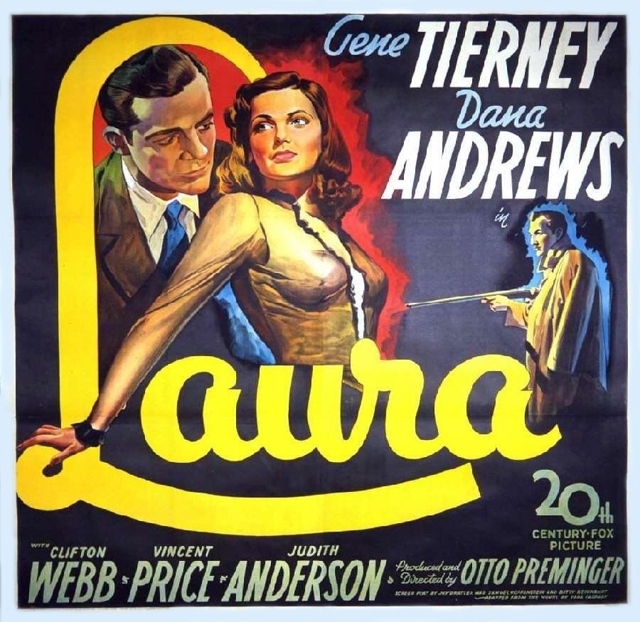 laura directed by otto preminger Otto preminger, the director who portrayed nazis on the screen and was accused by many actors under him of acting like one on the set, died early today.