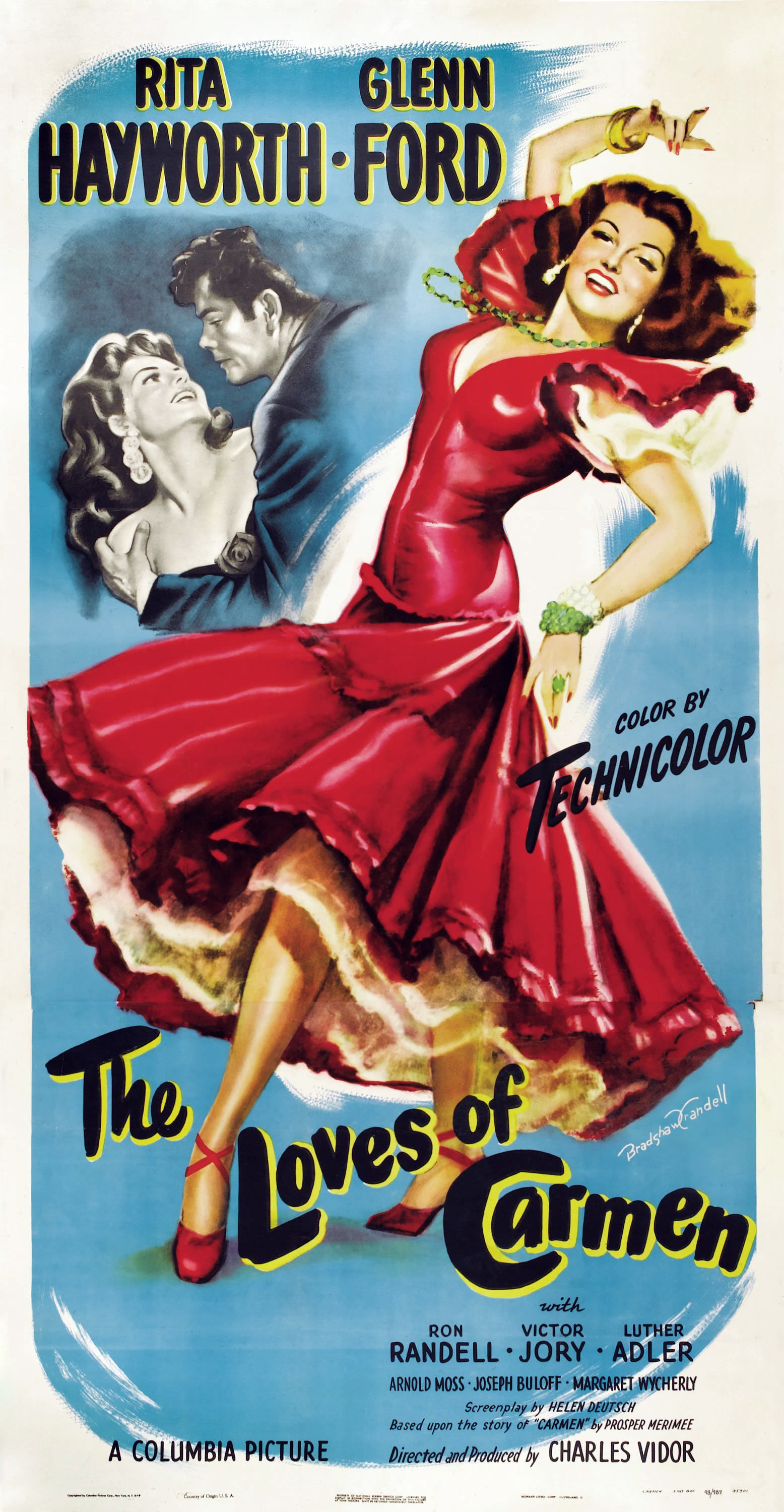 The loves of carmen 1948 rita hayworthglenn ford eng