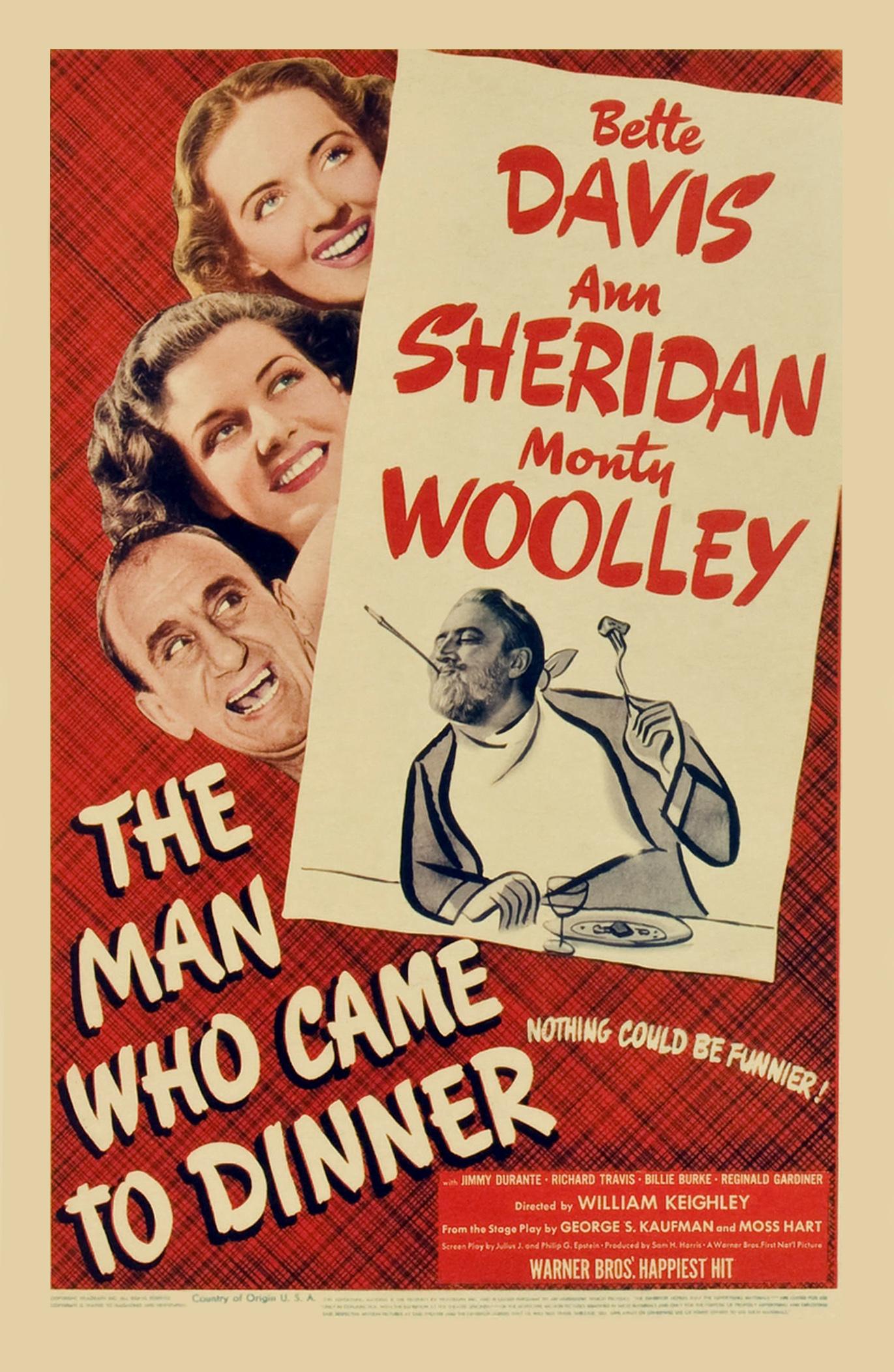 Resultado de imagem para the man who came to dinner 1942