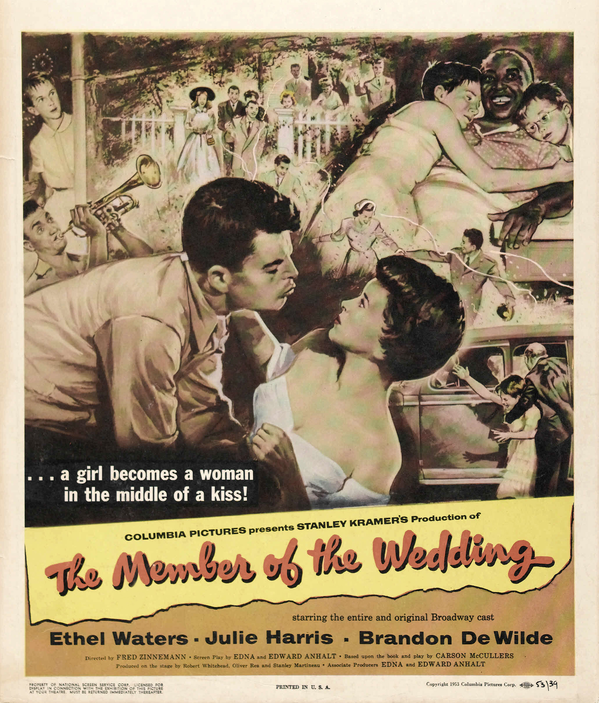 member of the wedding Other information: total number of members who have this title in their: collection: 40 wish list: 1 there is 1 label for this title there are 5 compilation albums.