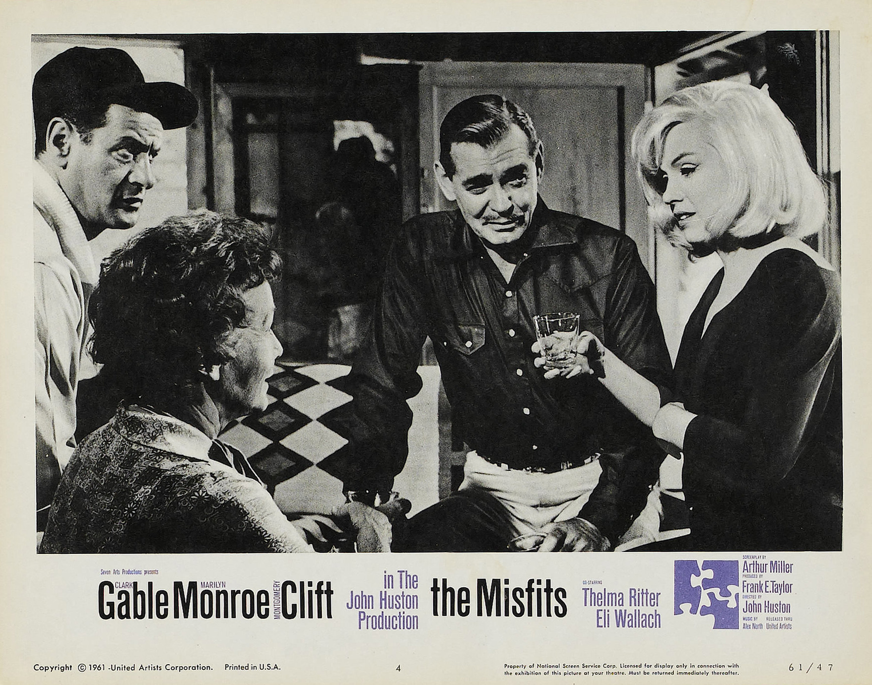The misfits movie