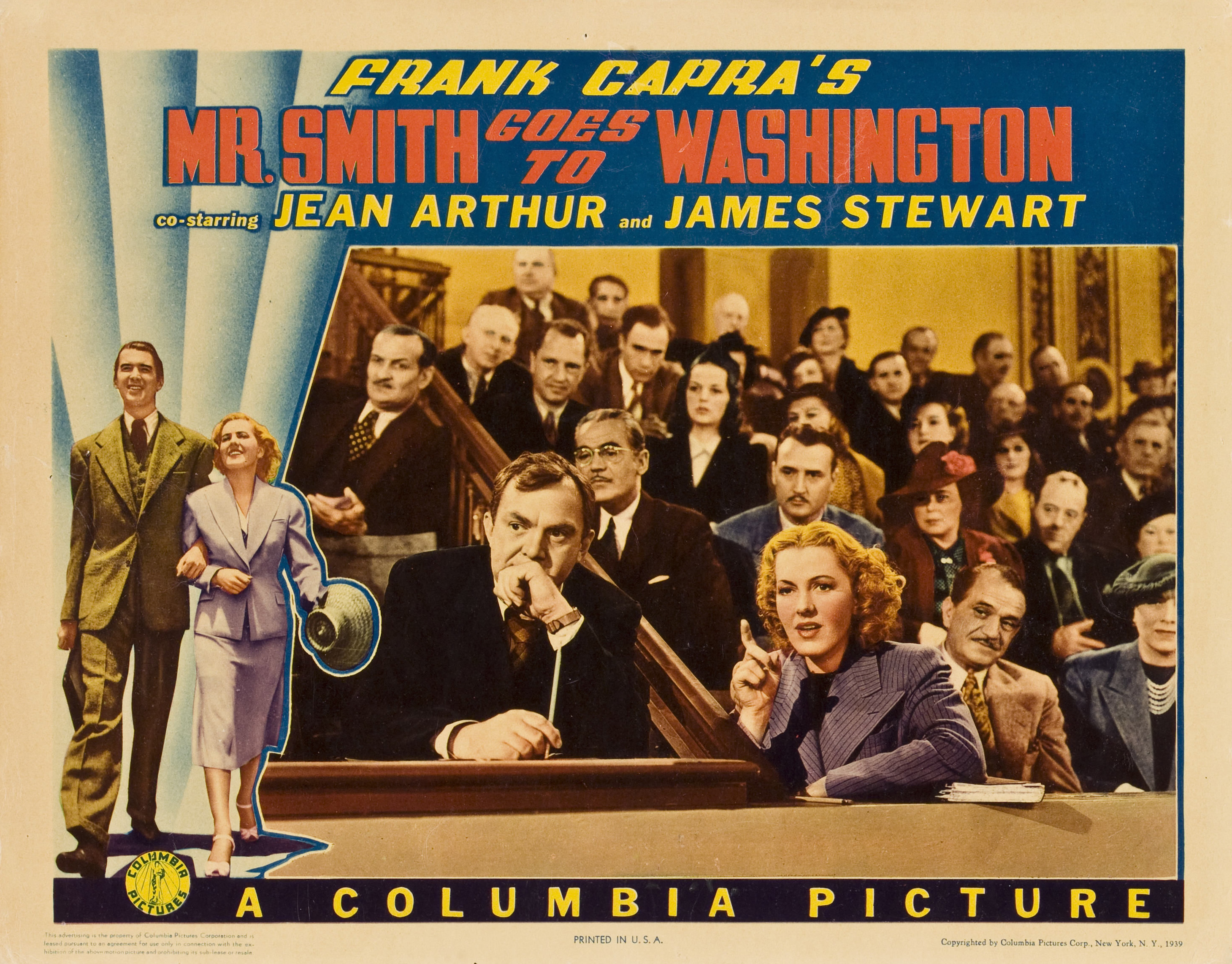 mr smith goes to washington movie In mr smith goes to washington, however, the decent common man is surrounded by the most venal, petty, and thuggish group of yahoos ever to pass as decent society in a capra movie everyone in the film -- except for jefferson smith and his tiny cadre of believers -- is either in the pay of the political machine run by edward arnold's james .