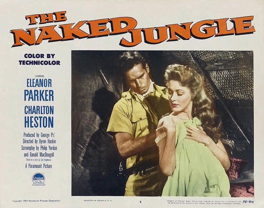 The Naked Jungle - Charlton Heston DVD - Film Classics