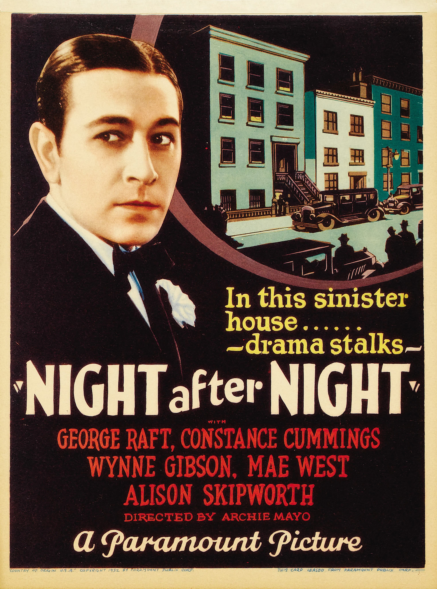night after night 1932 film the mummy