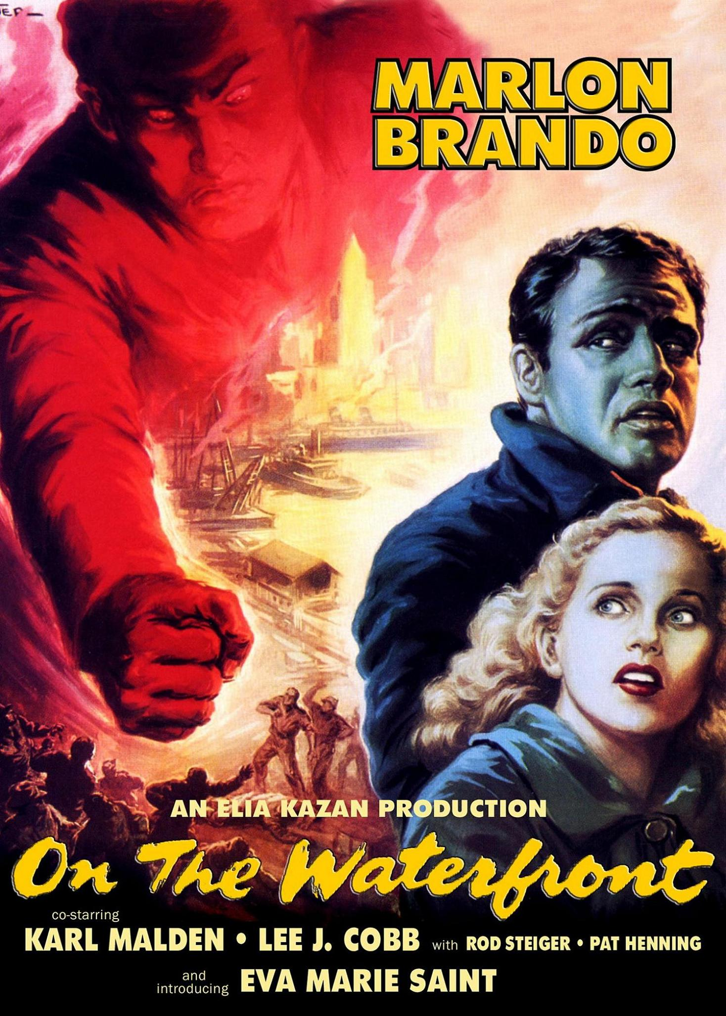 on the waterfront On the waterfront quotes terry malloy: you don't understand i coulda had class i coulda been a contender i could've been somebody, instead of a bum, which is what i am.