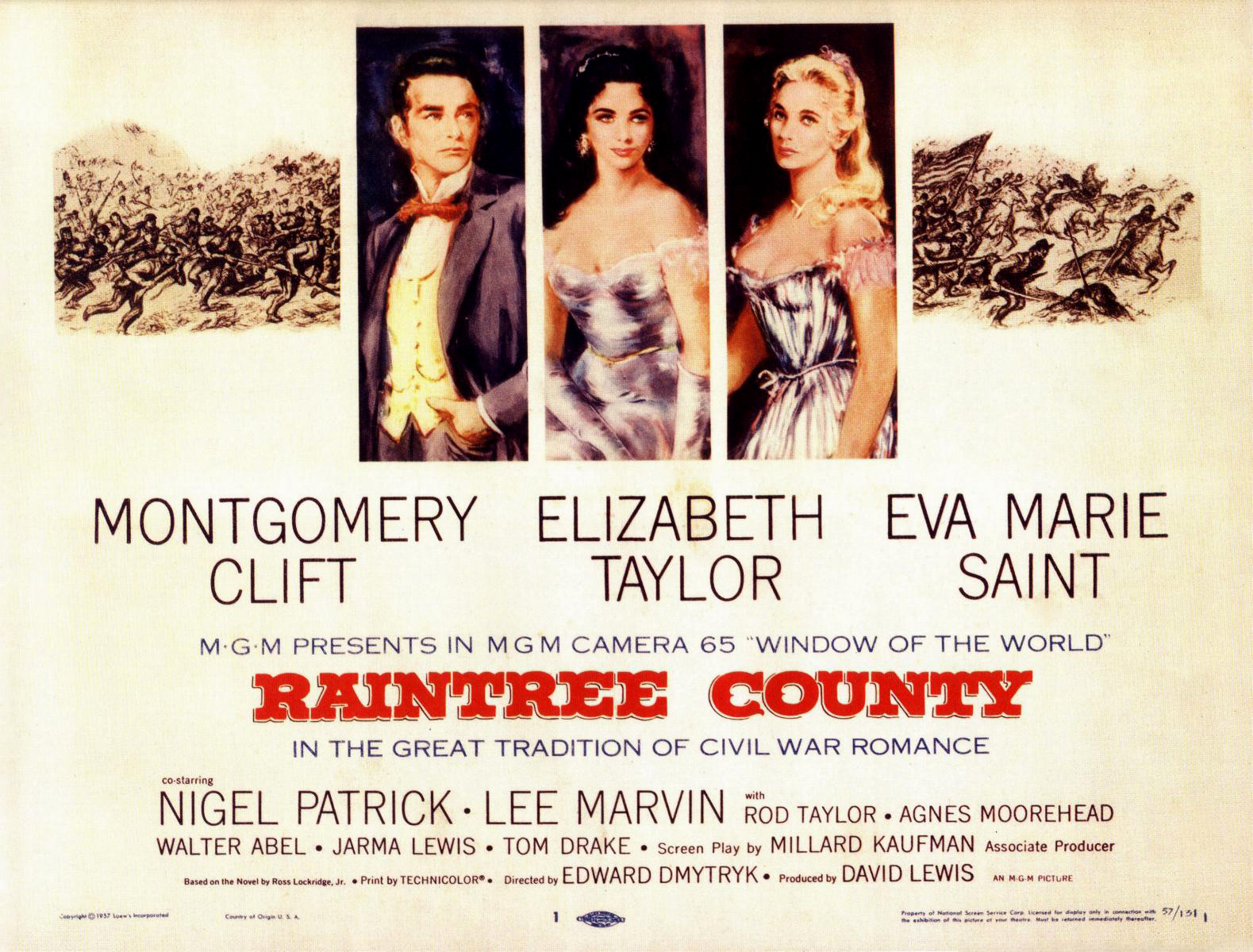 Image result for raintree county the movie